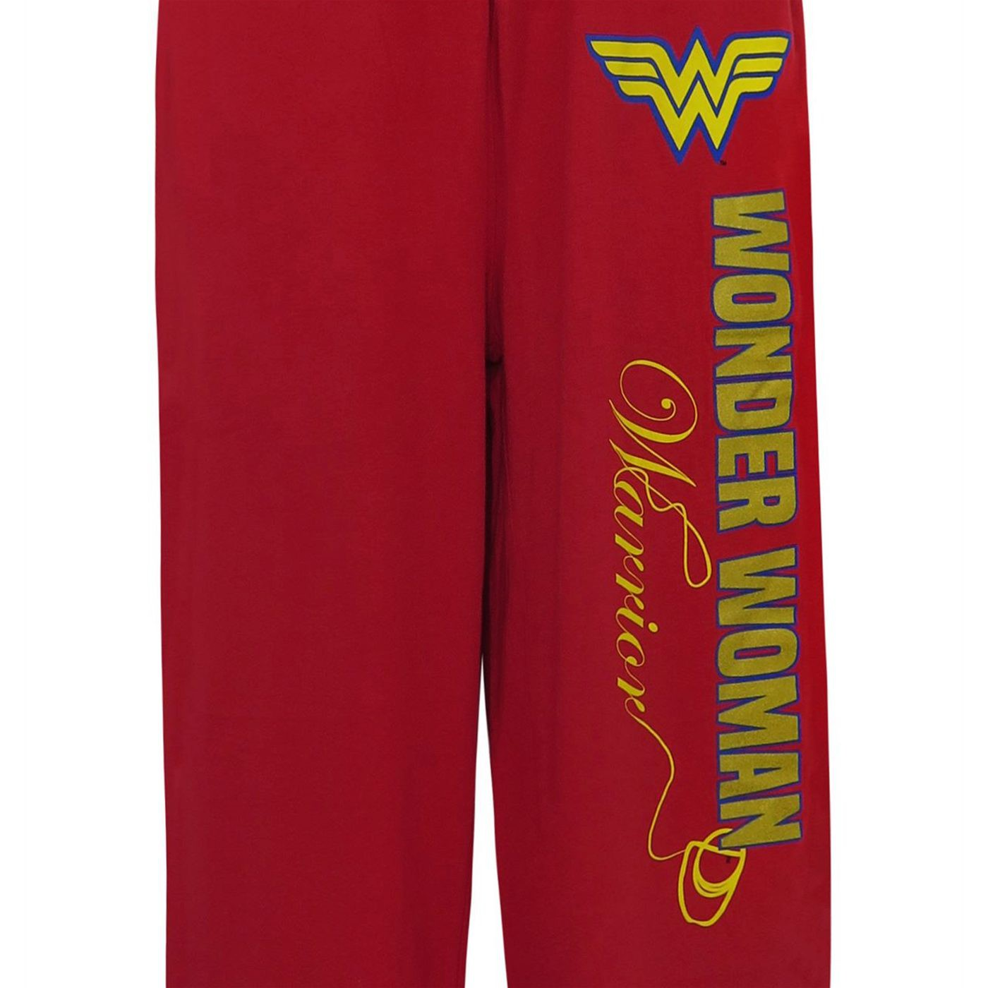 Wonder Woman Foil Logo Unisex Pajama Pants