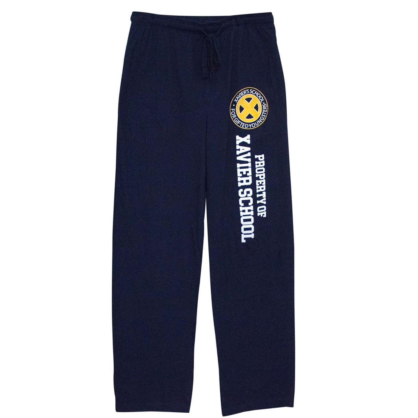 X-Men Property of Xavier School Unisex Pajama Pants