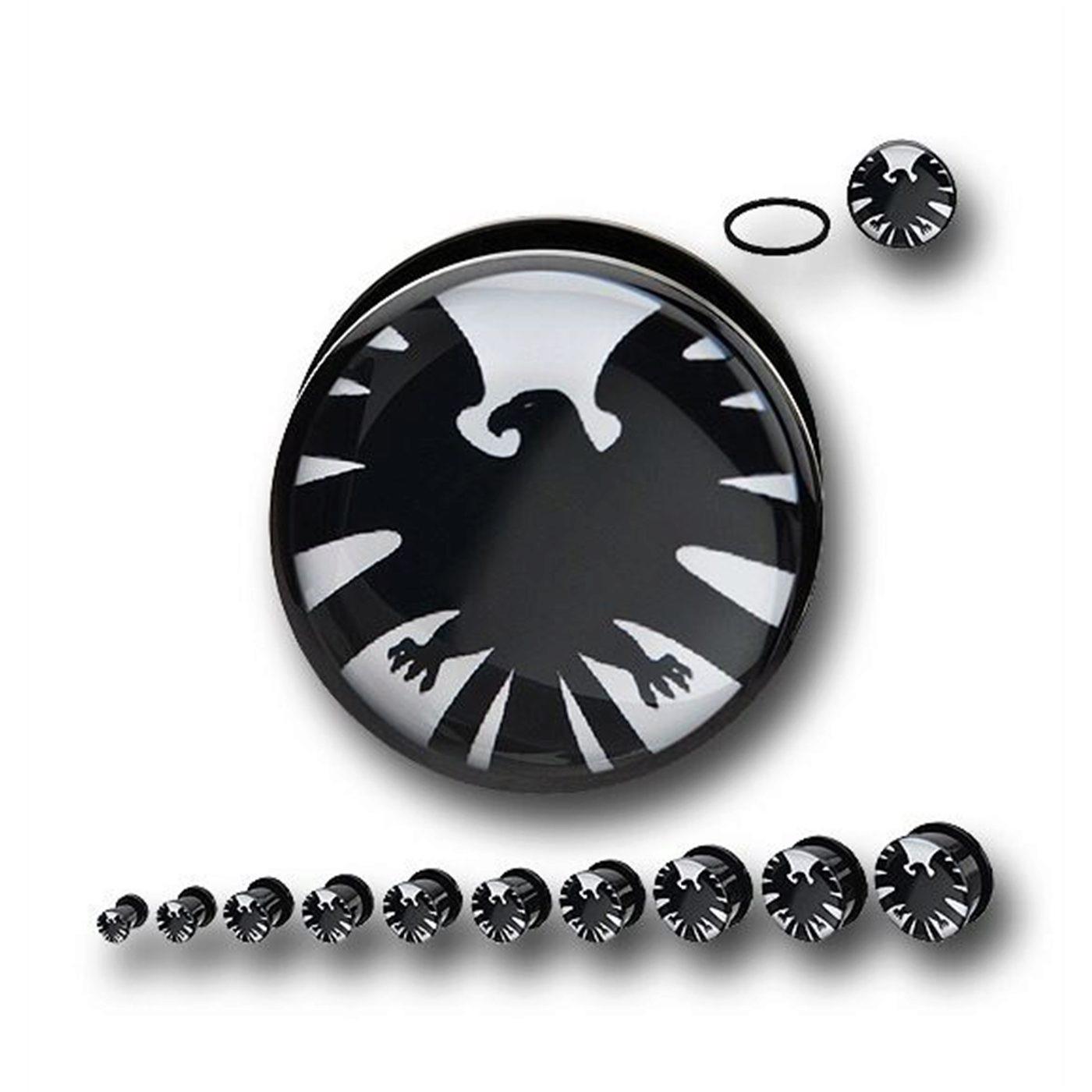 SHIELD Symbol Acrylic Screw Fit Plugs