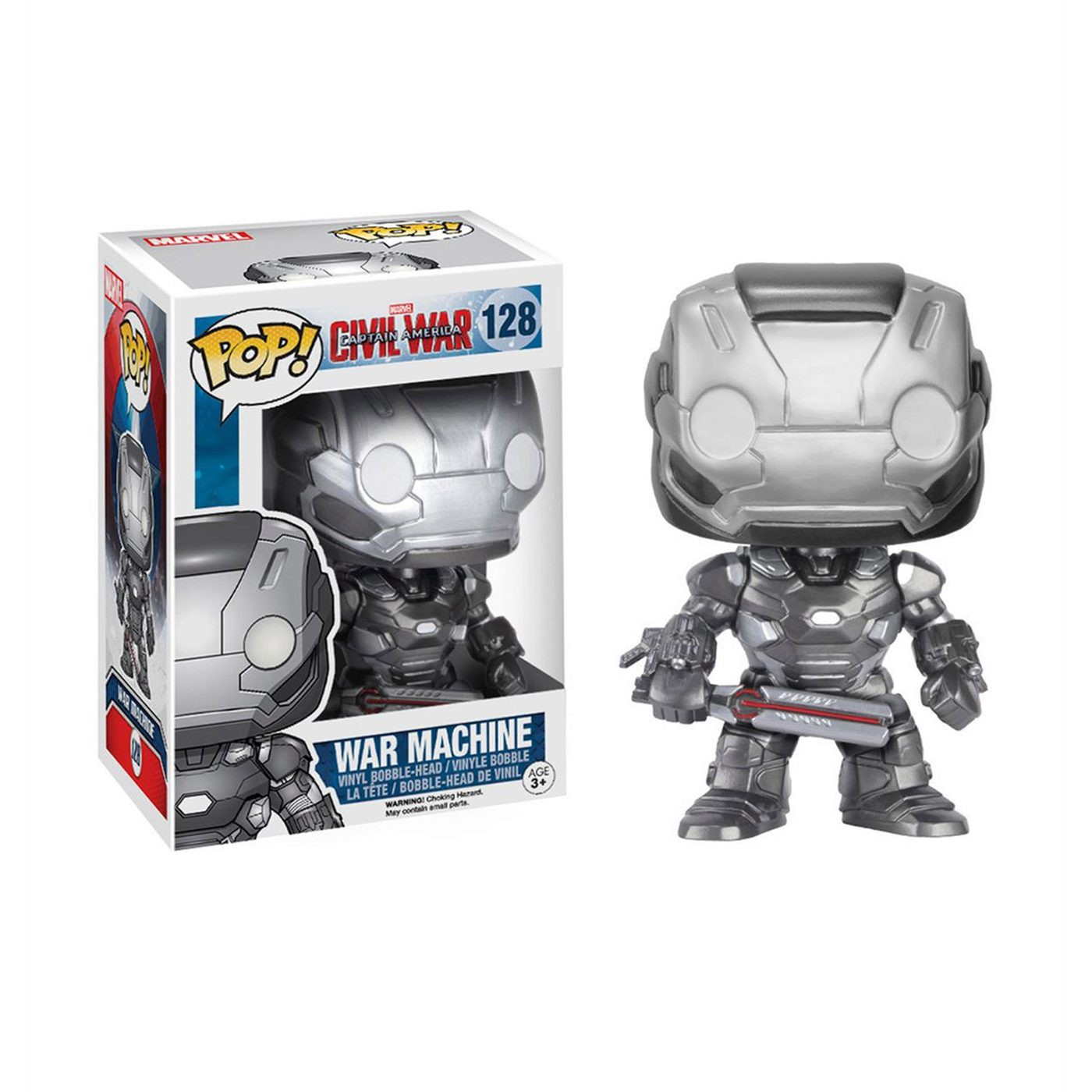 Captain America Civil War War Machine Pop Bobble Head