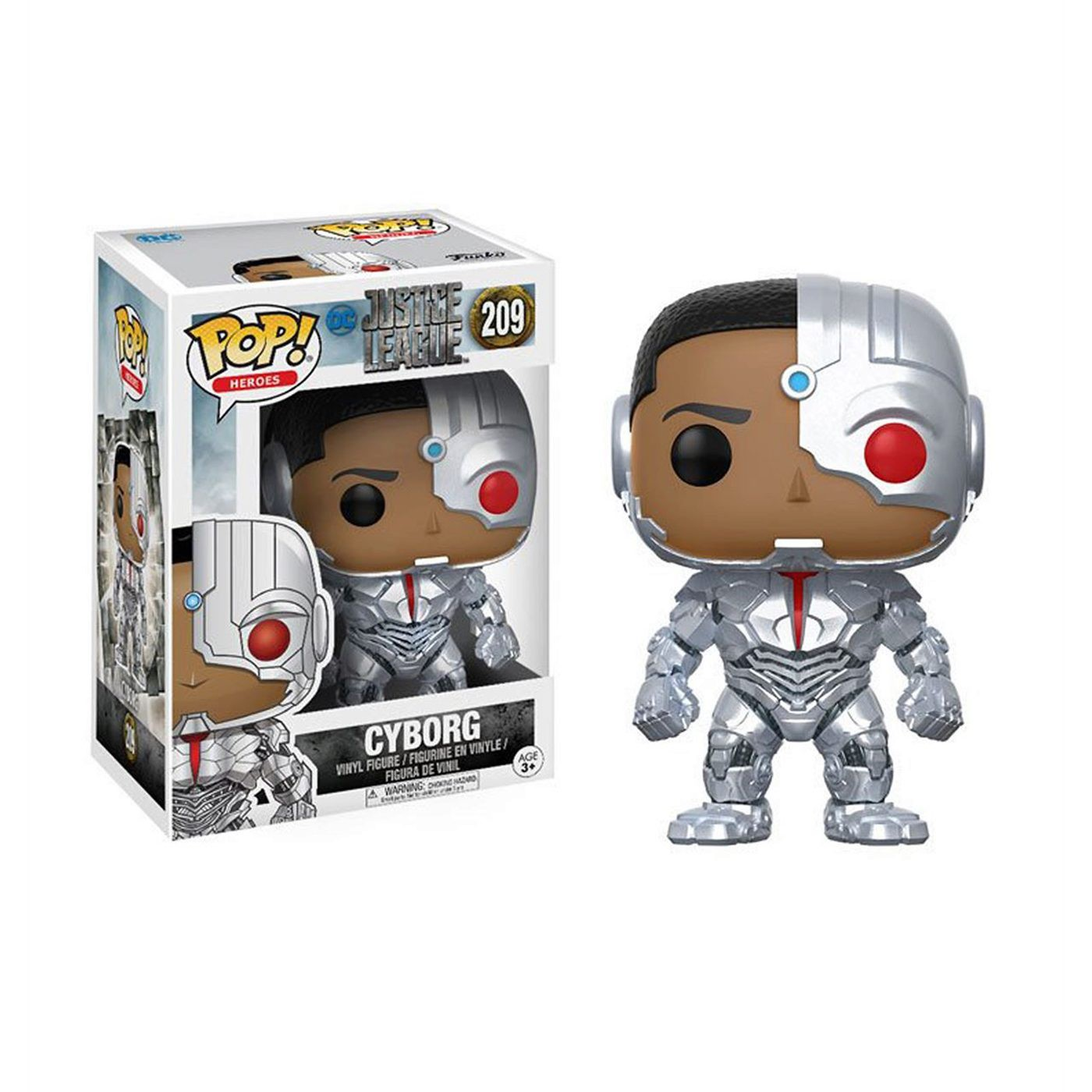 Cyborg Justice League Movie Funko Pop Vinyl Figure