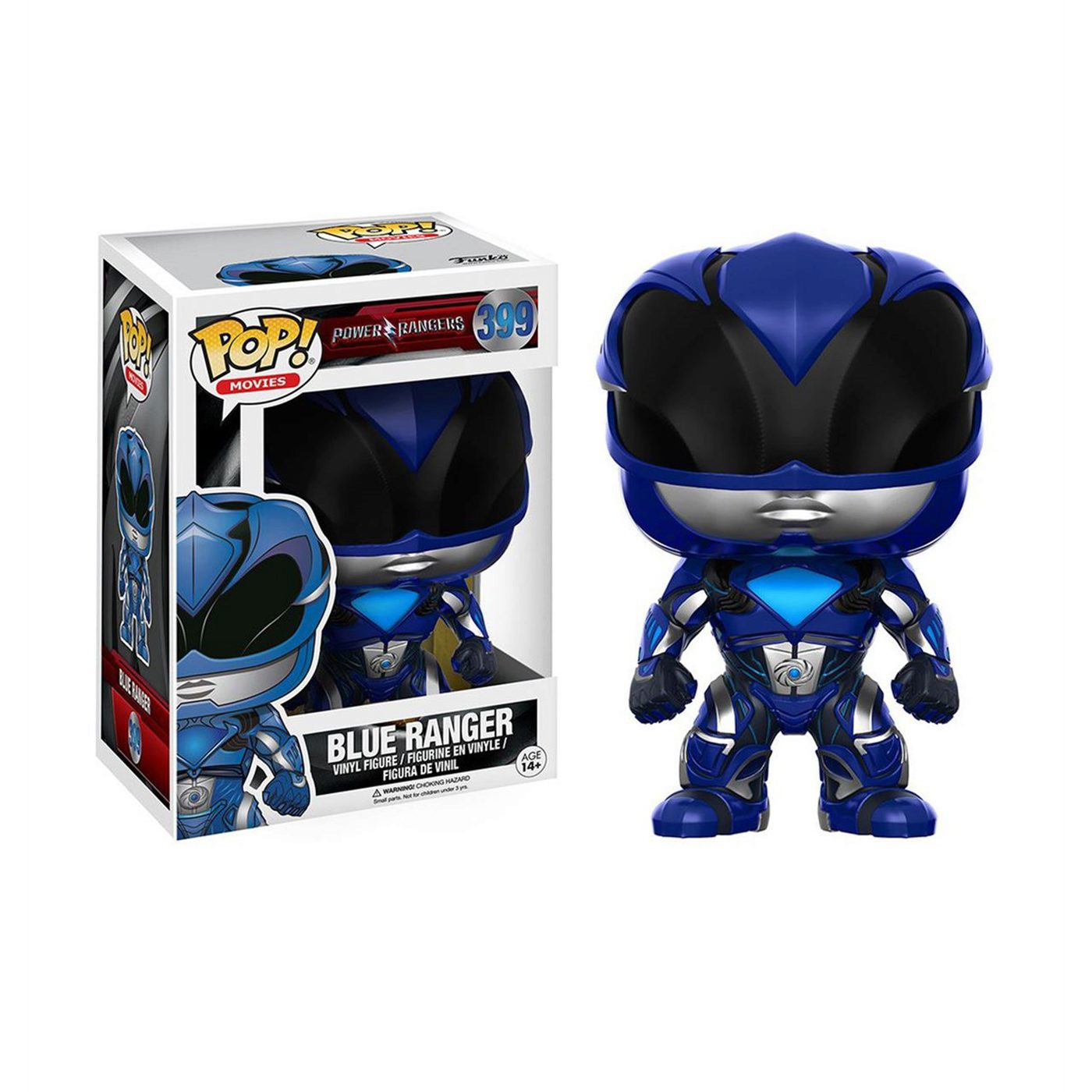 Power Rangers Movie Blue Ranger Funko Pop Vinyl Figure