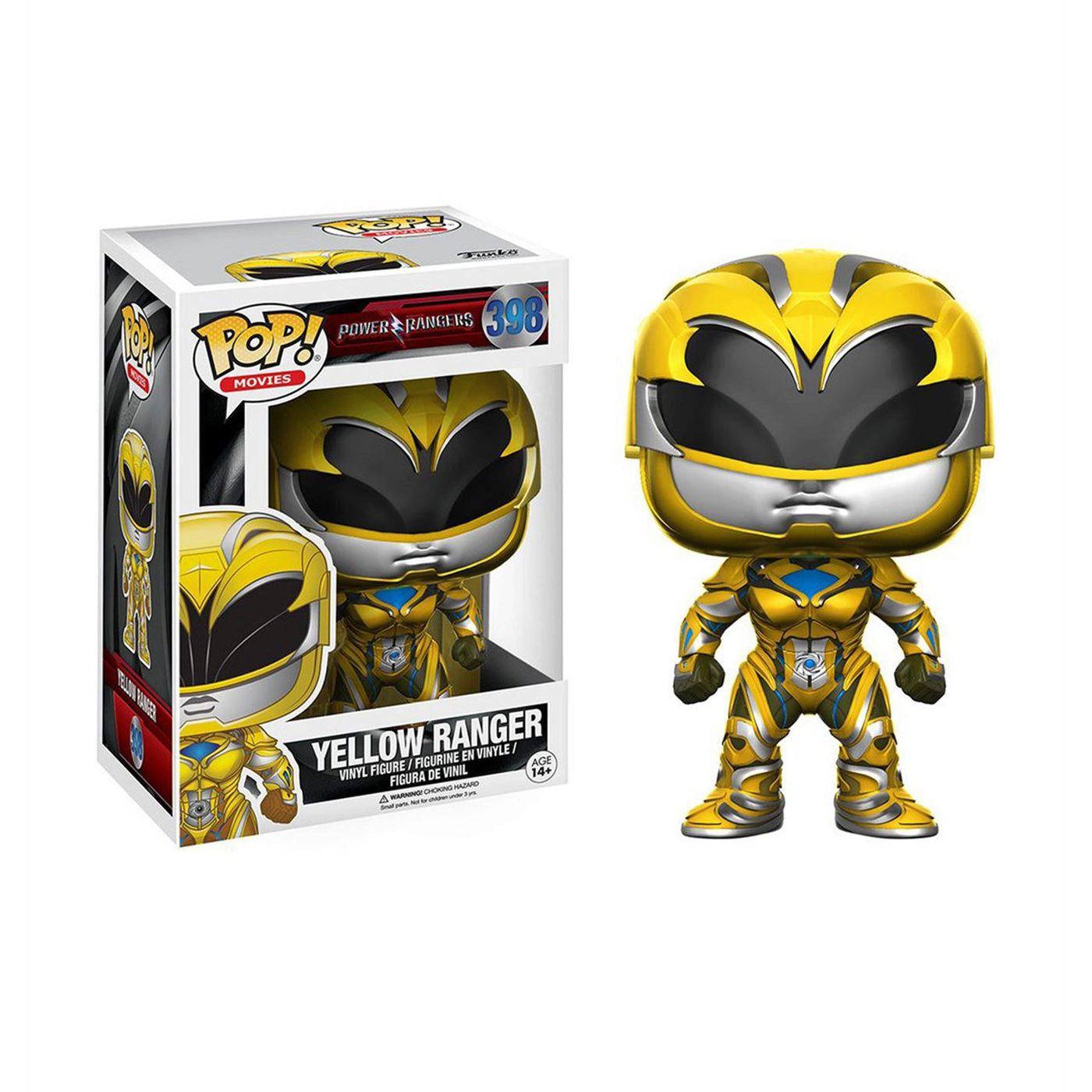 Power Rangers Movie Yellow Ranger Pop Vinyl Figure