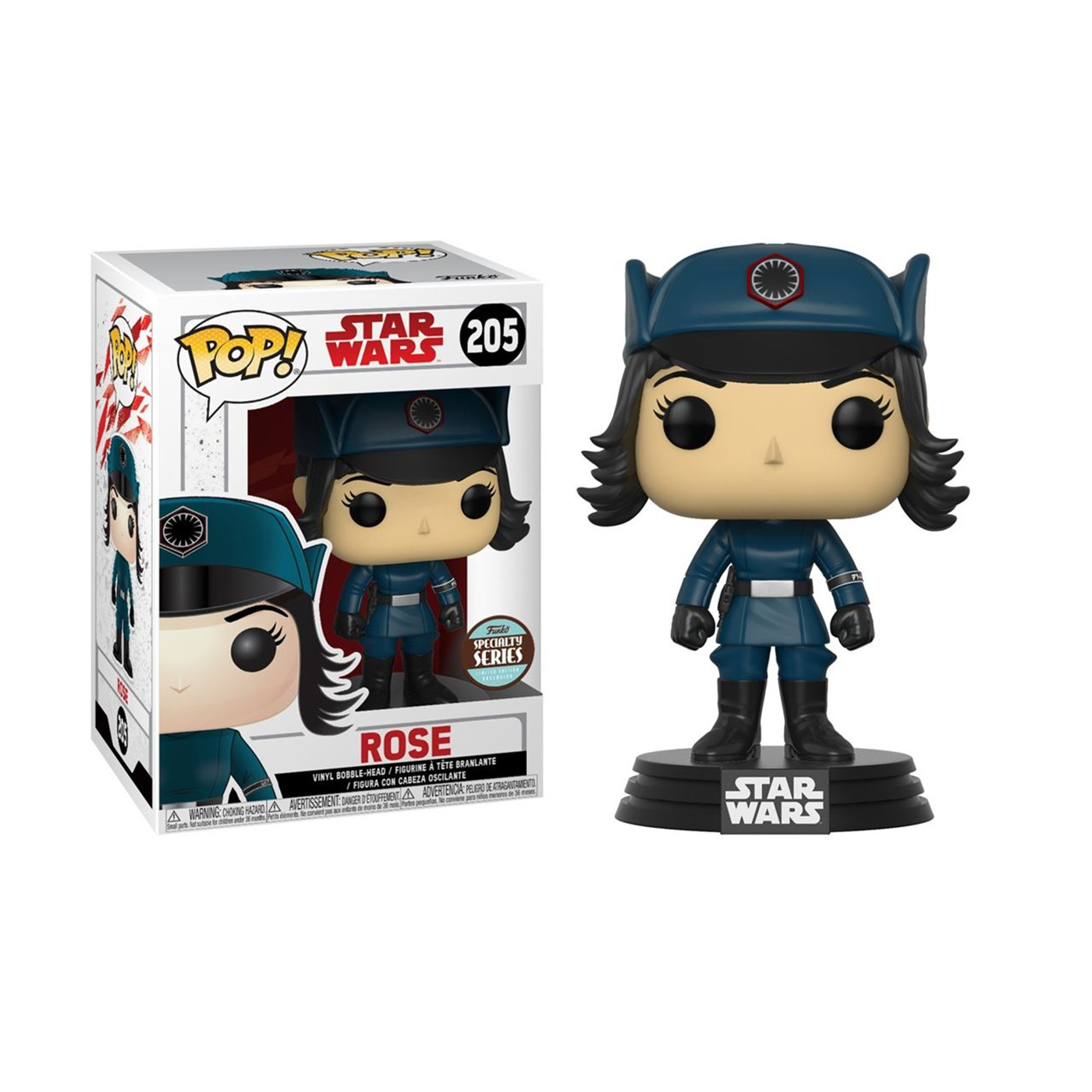 Star Wars Last Jedi Rose in Disguise Funko Pop Specialty Series