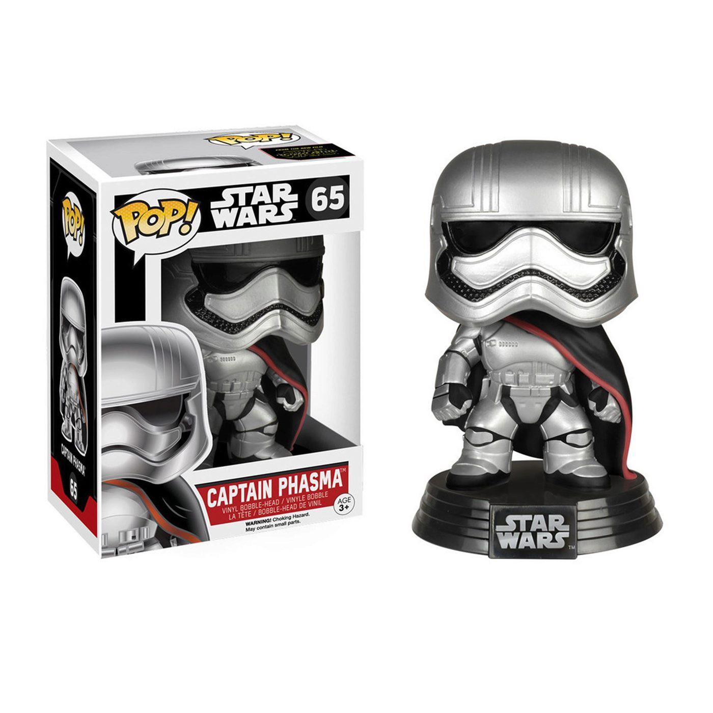 Star Wars Force Awakens Captain Phasma Pop Bobble Head