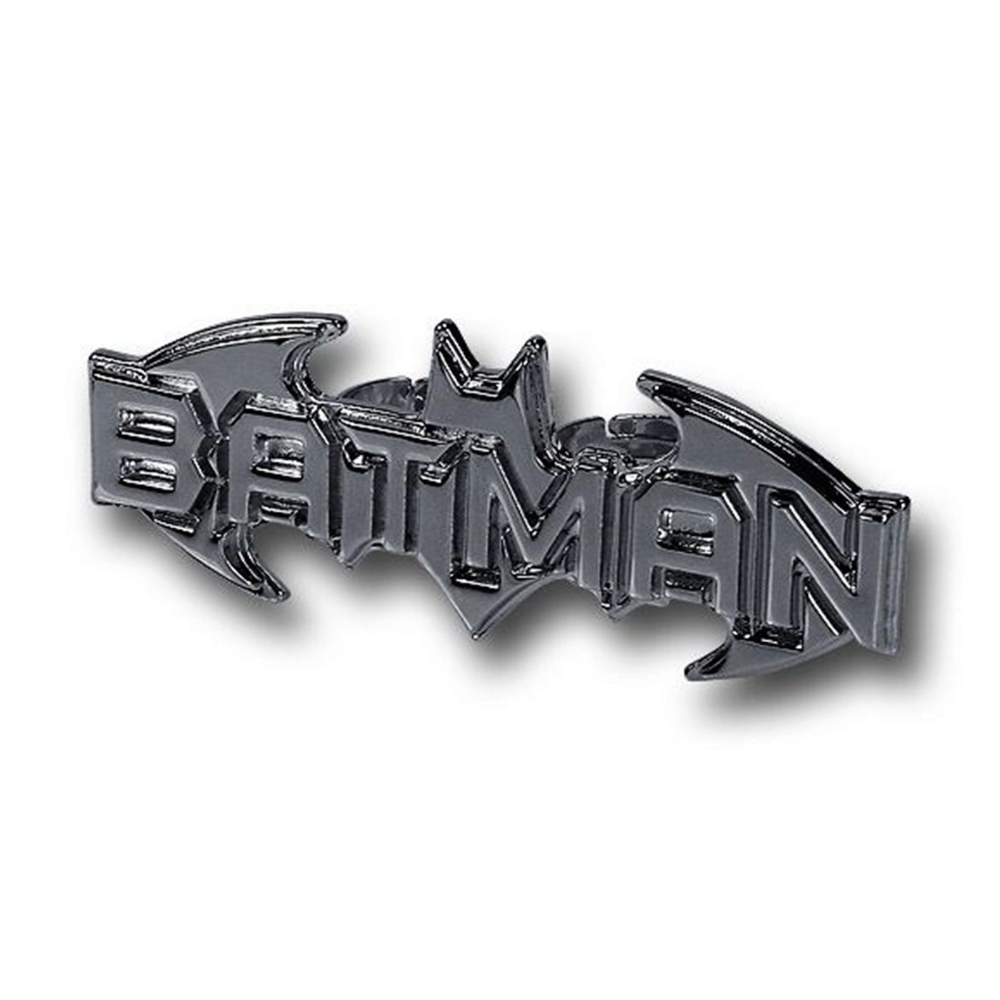 Batman Logo Two-Finger Ring
