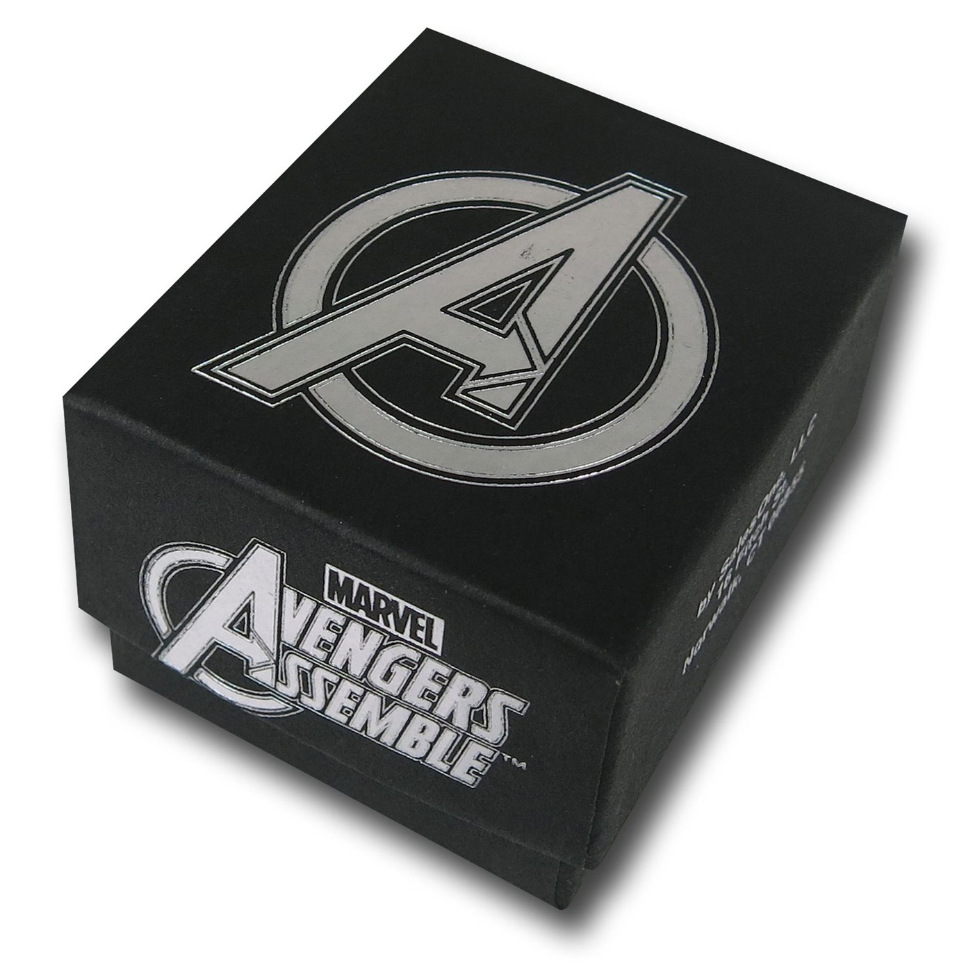 Hulk Radiation Symbol Avengers Ring