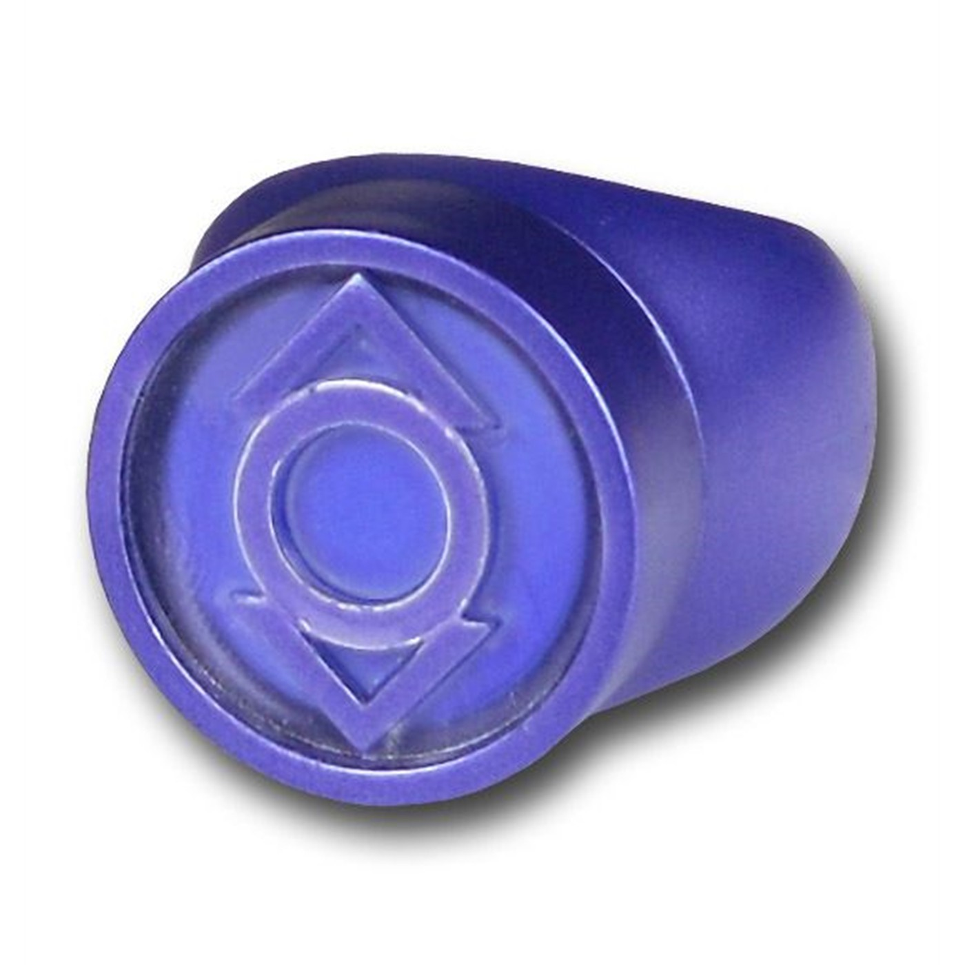 INDIGO LANTERN RING COMPASSION Green Lantern Blackest Night Plastic Ring
