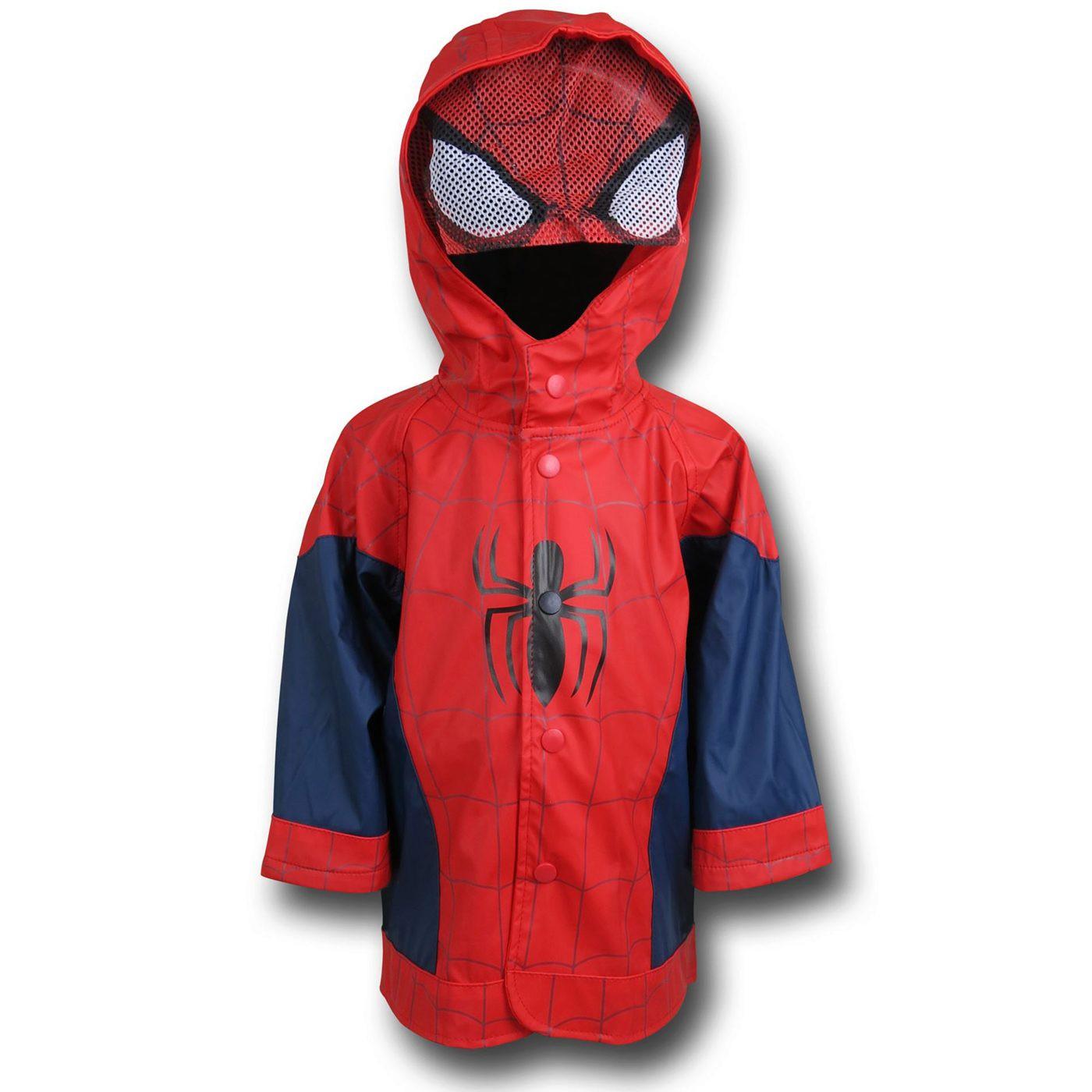 Spiderman Kids Costume Rain Coat