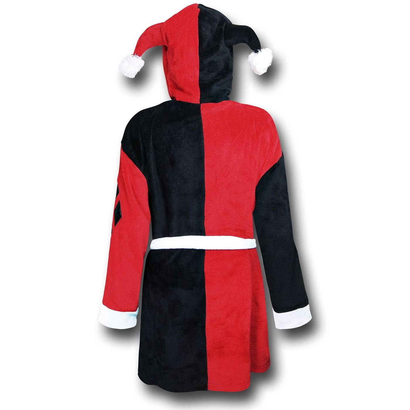 Harley Quinn Plush Robe