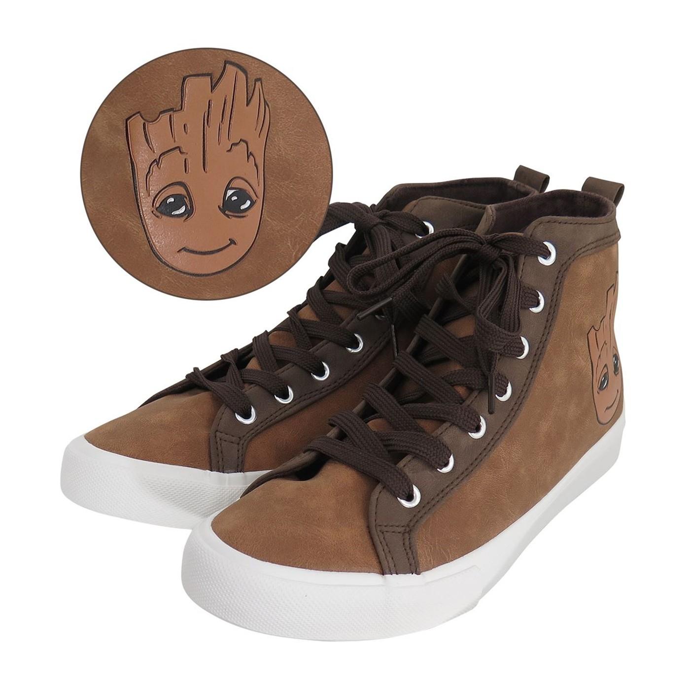 GOTG Baby Groot Men's High Top Sneakers