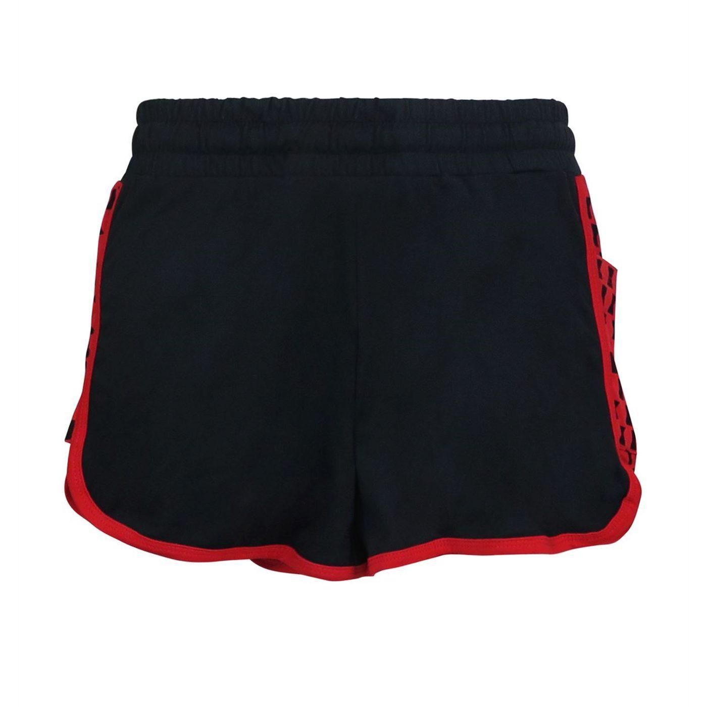 Black Widow Symbol Women's Shorts