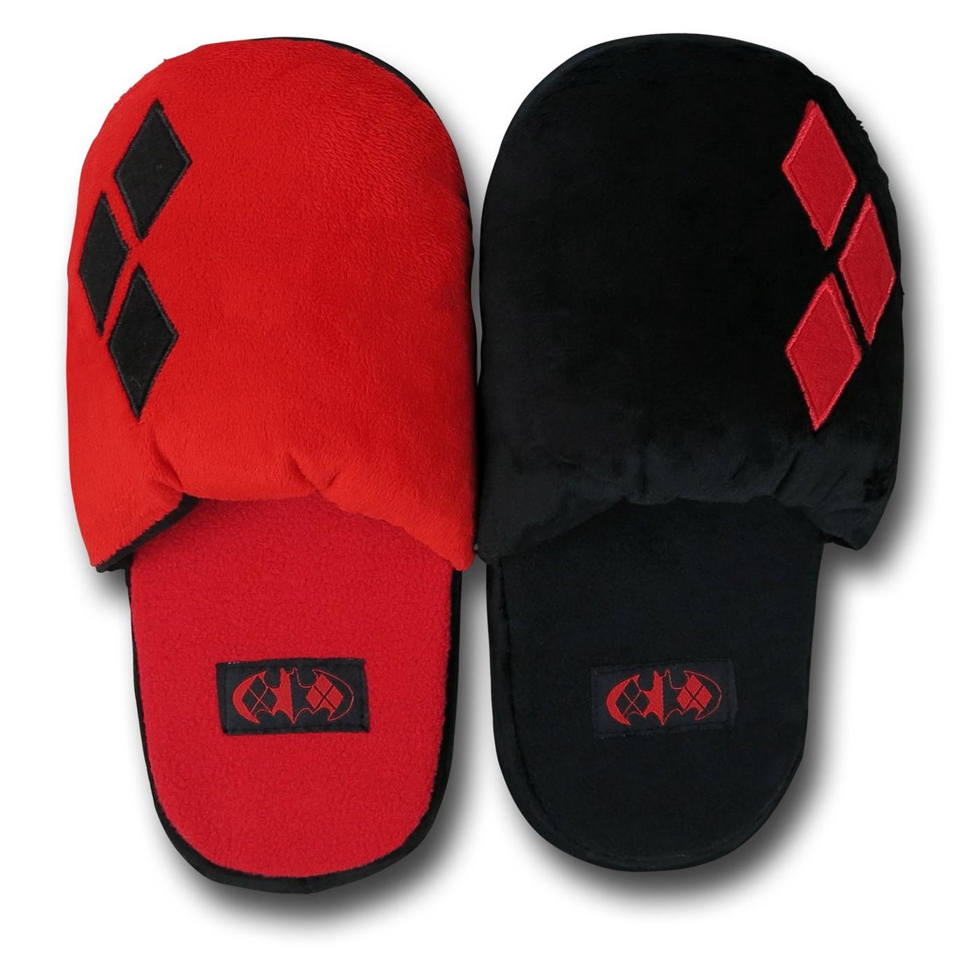 Harley Quinn Women's Plush Slippers