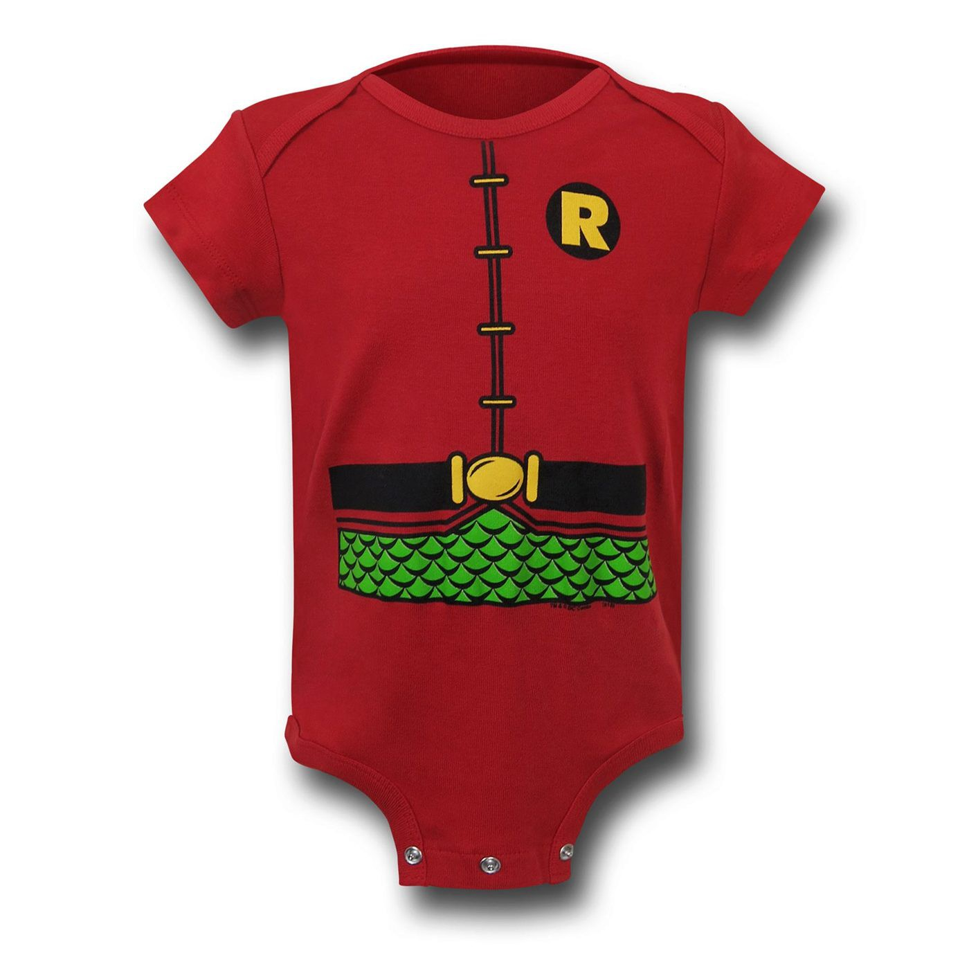 Robin Classic Costume Infant Snapsuit