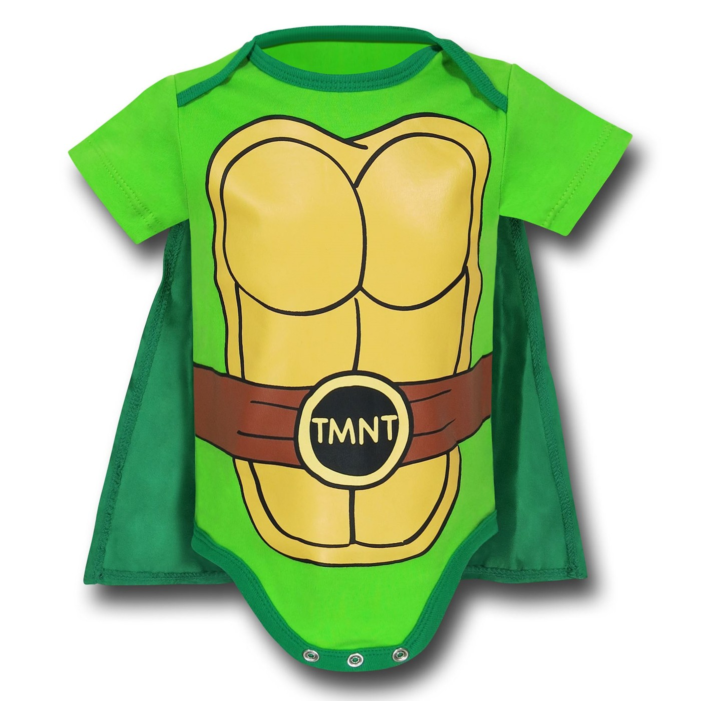 TMNT Caped Costume Infant Snapsuit