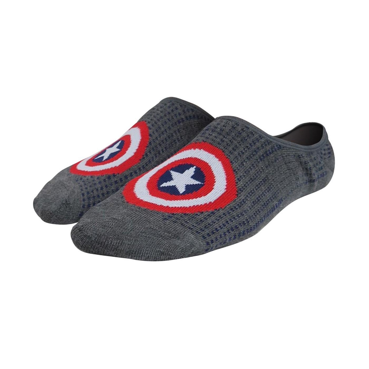 Captain America & Friends Shorty Socks 3-Pack