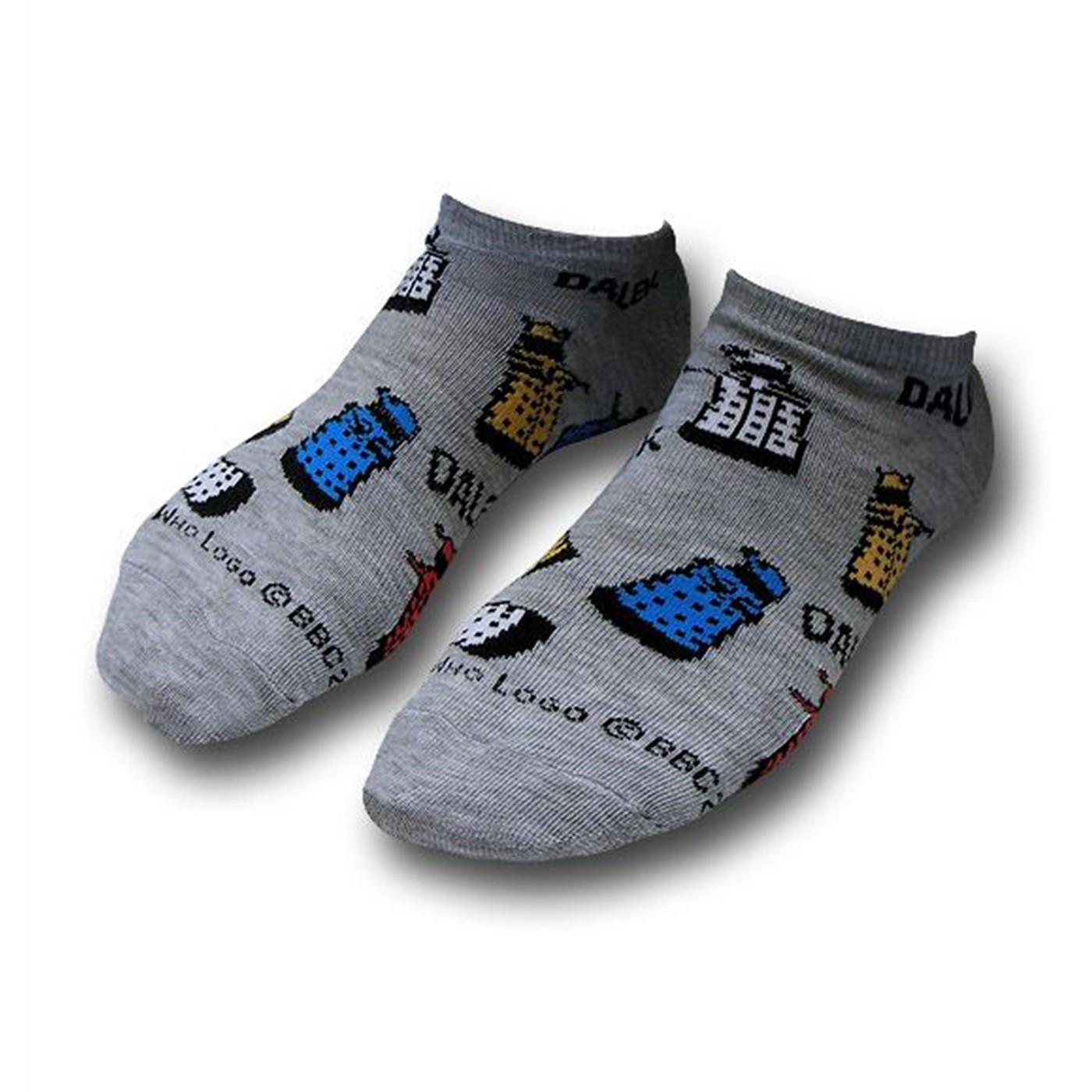 Doctor Who Low-Cut Ladies Socks 3-Pack