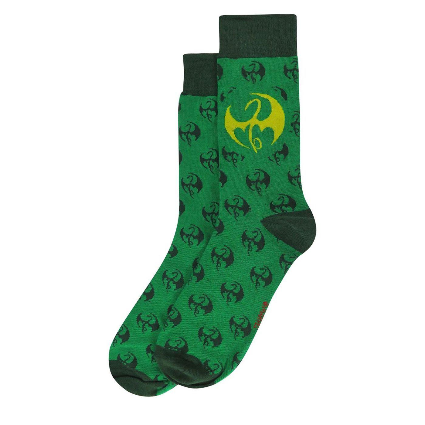 Iron Fist Symbols Sock 2-Pack