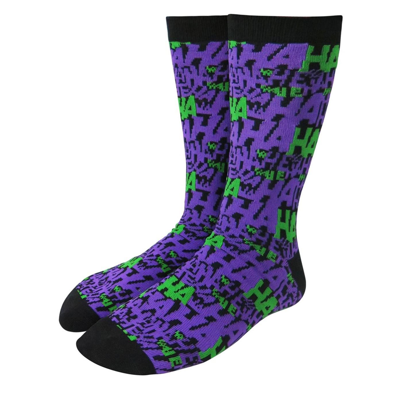 Joker HAHA Crew Socks