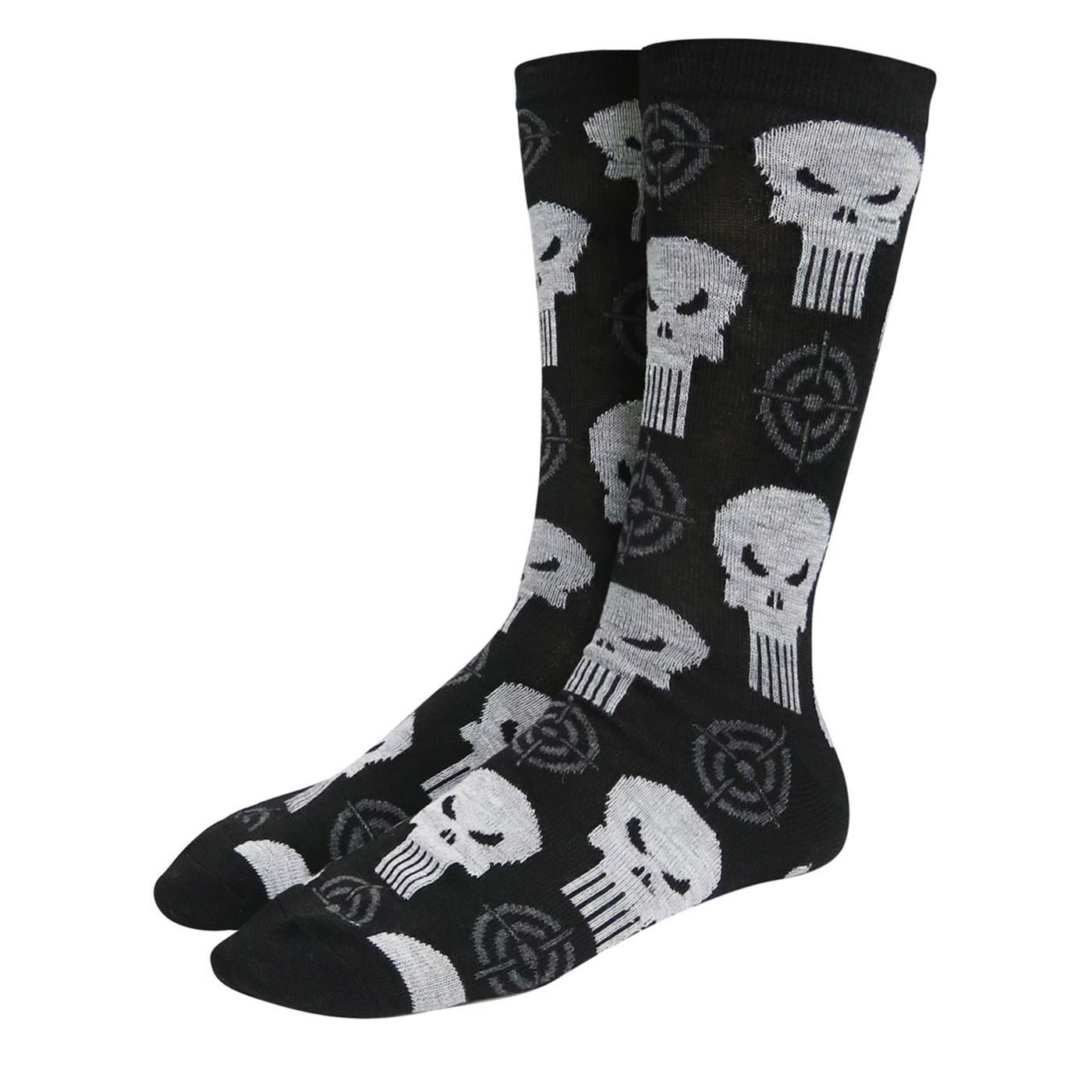 Punisher Crosshairs Crew Socks 2-Pack