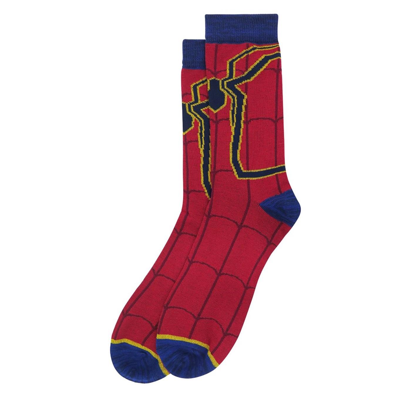 Avengers Infinity War Iron Spider Crew Socks