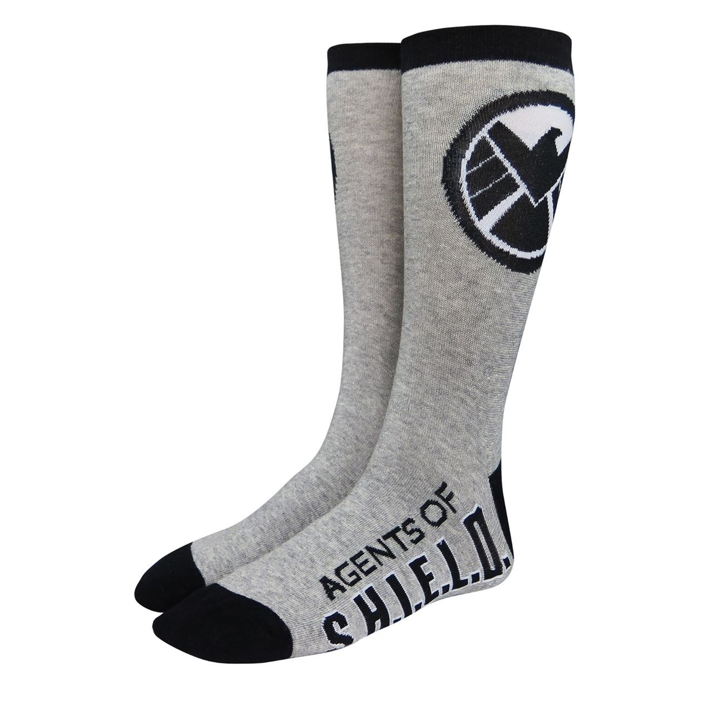 295cabc7d28f7 Agents of Shield Symbol Crew Socks. $6.99 Reg.$8.99