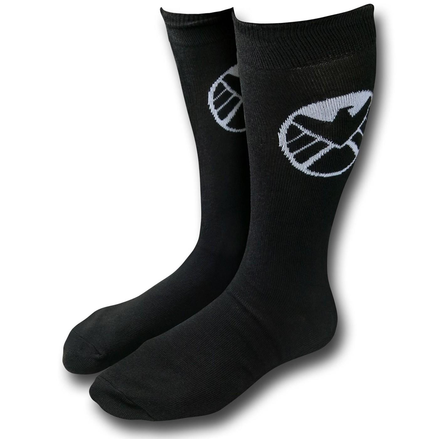 3b7cdbb3c3c0b SHIELD Symbol Crew Socks. $6.99 Reg.$8.99