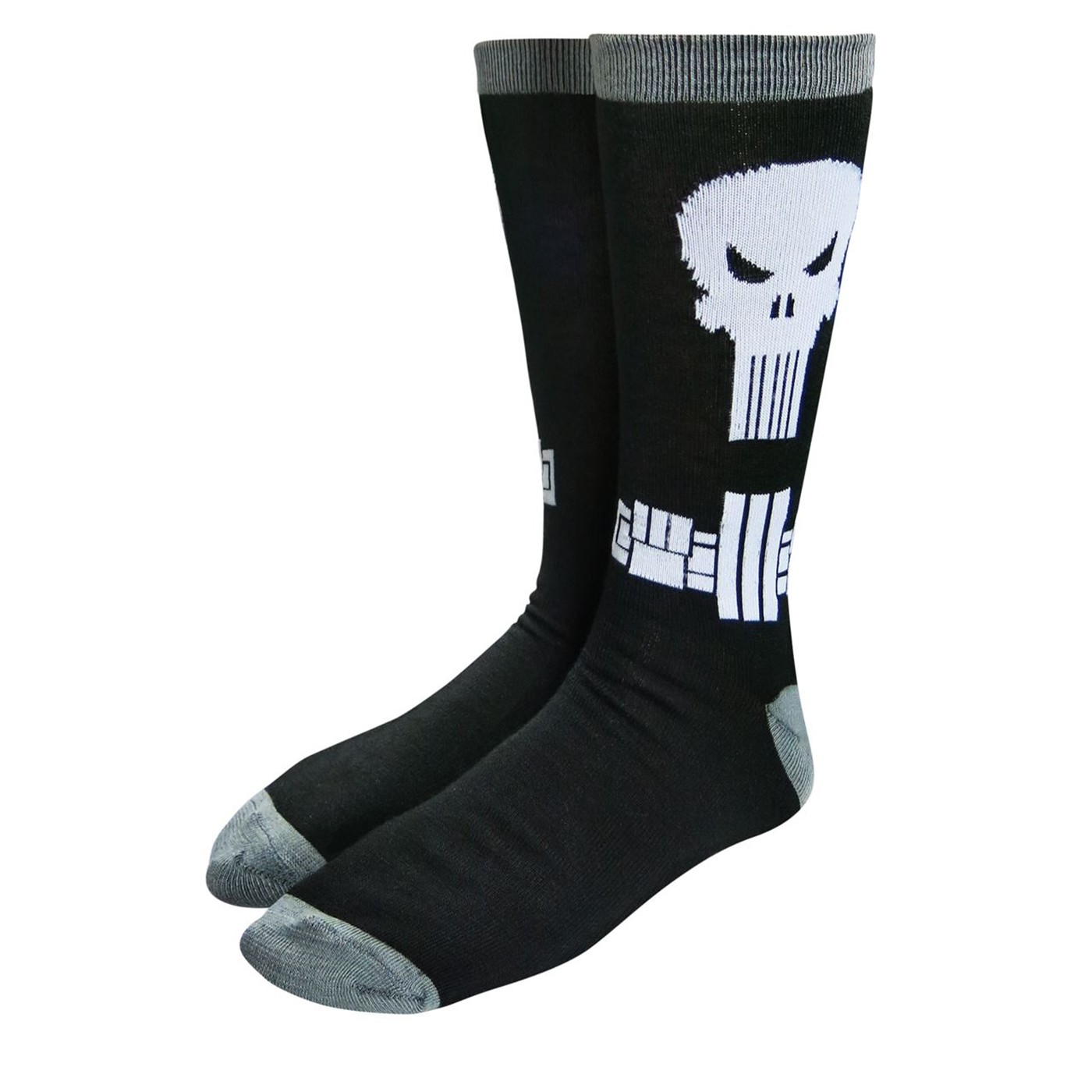 Punisher Belted Costume Crew Sock