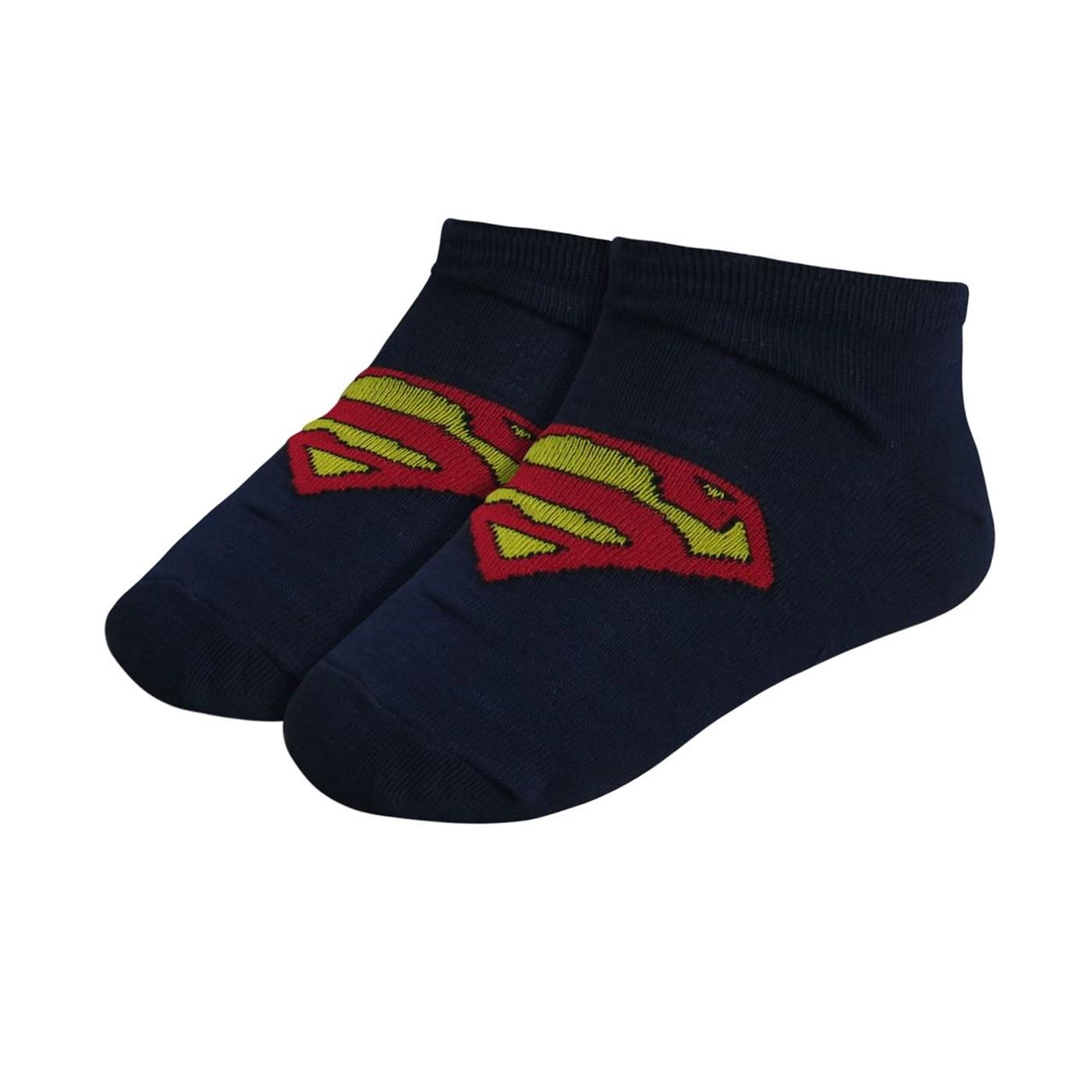 Superman Symbols Kids Sock 5 Pack