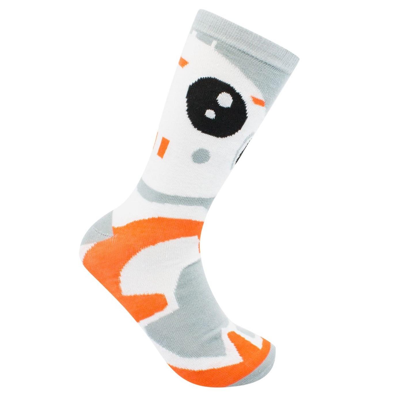 Star Wars BB-8 Crew Socks 2-Pack