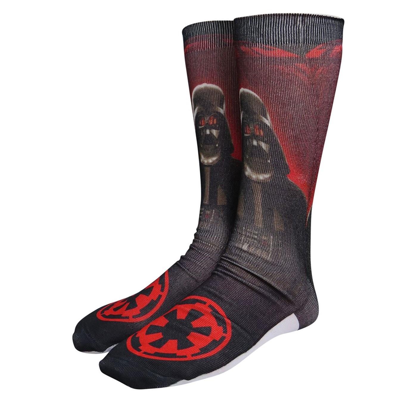 Star Wars Lord Vader Photoreal Socks