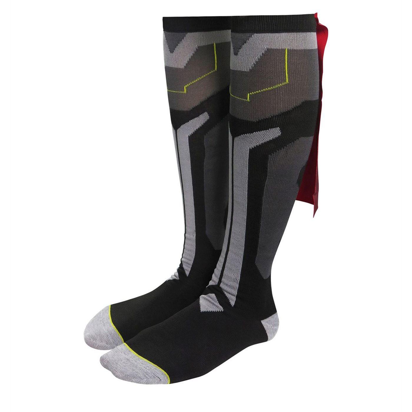 Thor Ragnarok Costume & Caped Knee High Socks