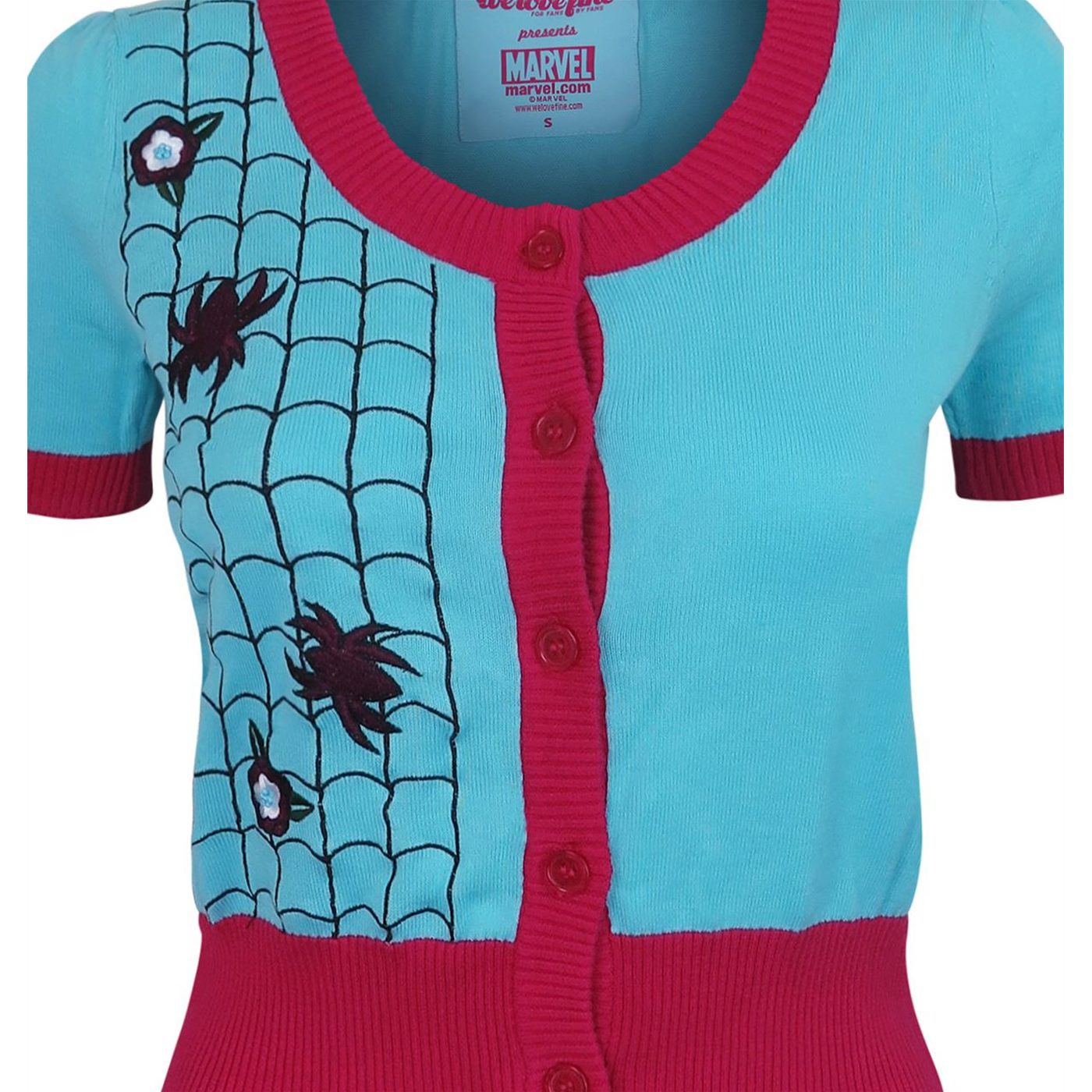 Spider-Gwen Women's Vintage Cardigan