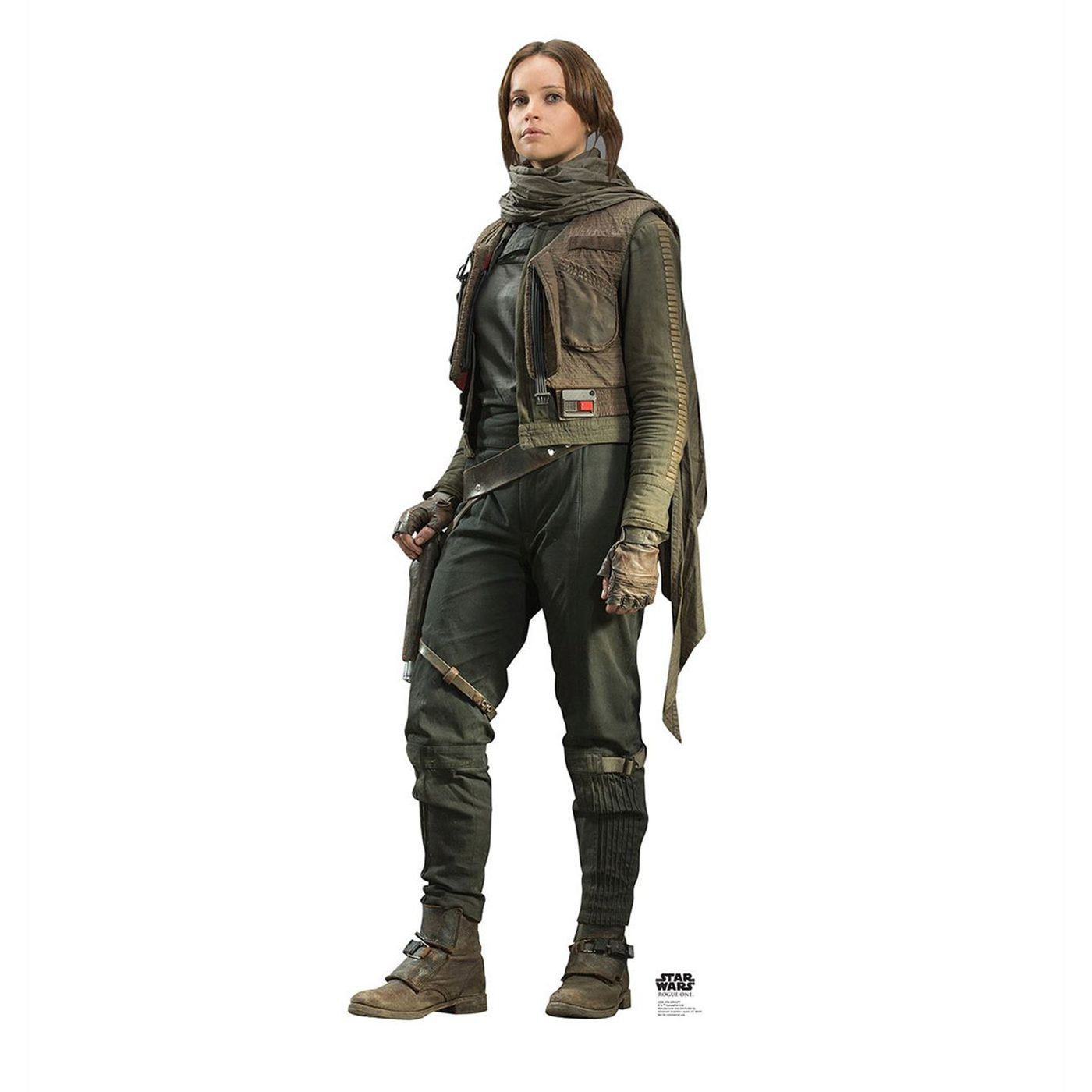 Star Wars Rogue One Jyn Erso Cardboard Cutout