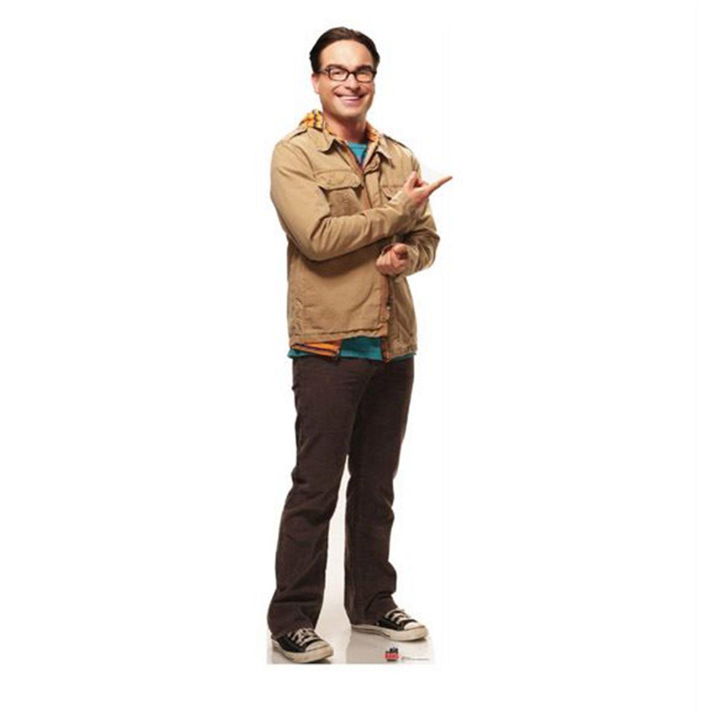 Big Bang Theory Leonard Cardboard Cutout