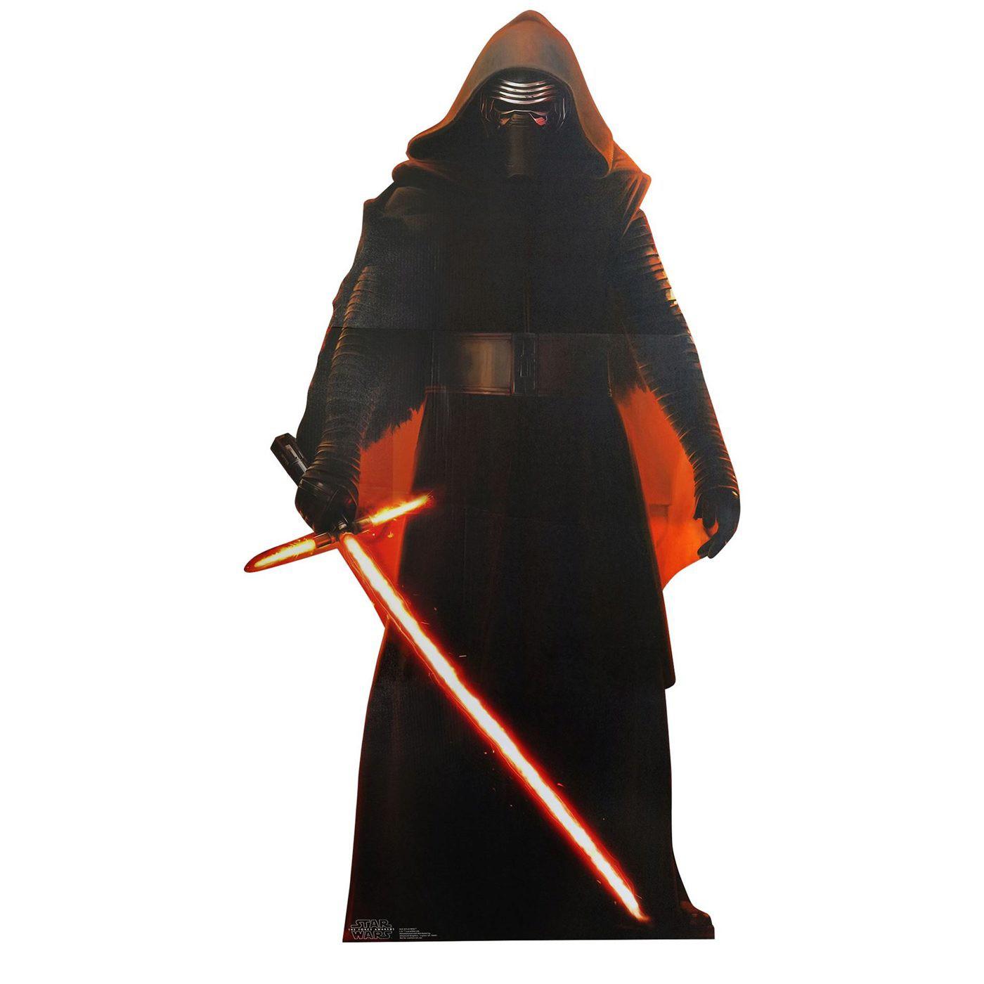 Star Wars Force Awakens Kylo Ren Cardboard Cutout