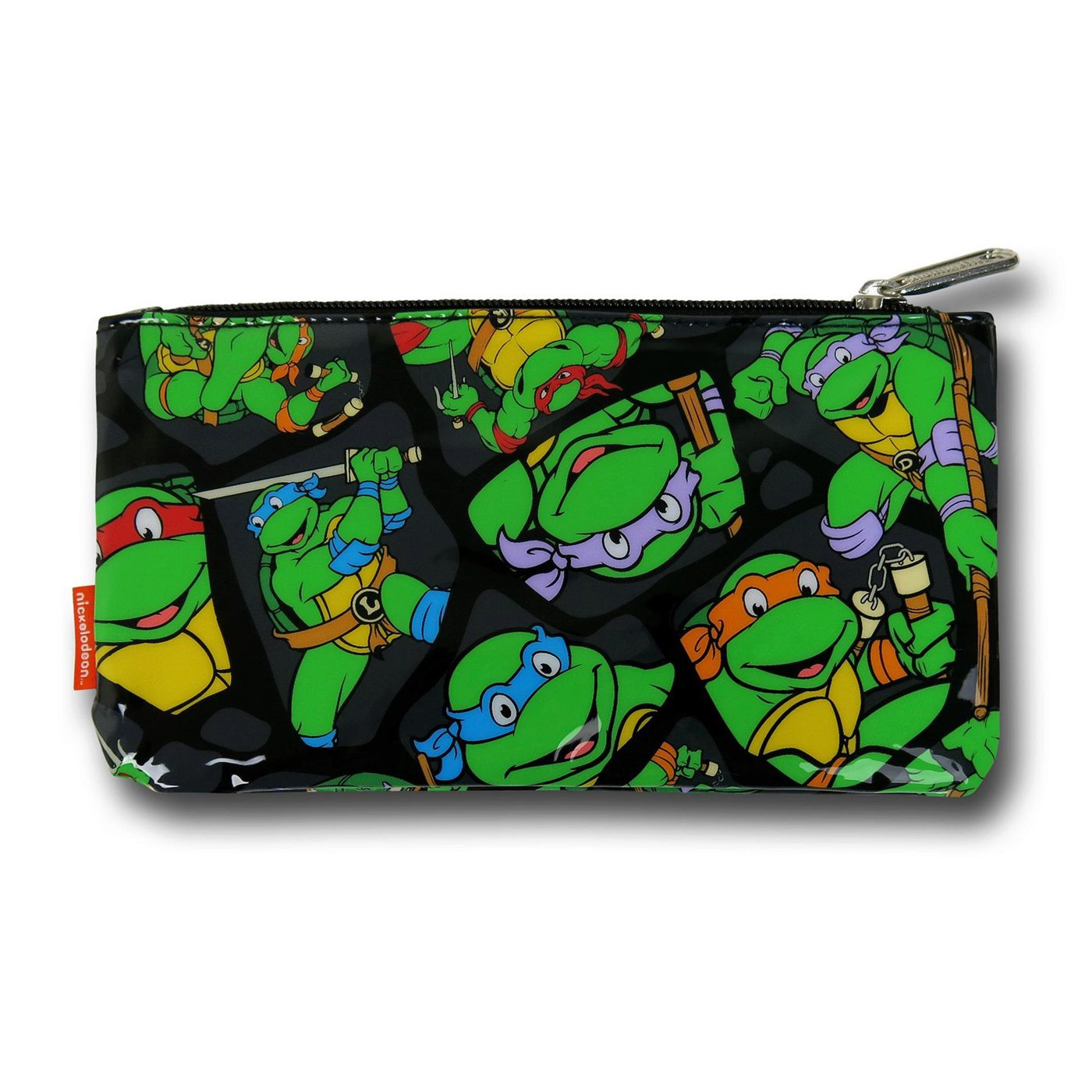 TMNT Collage Make Up Bag
