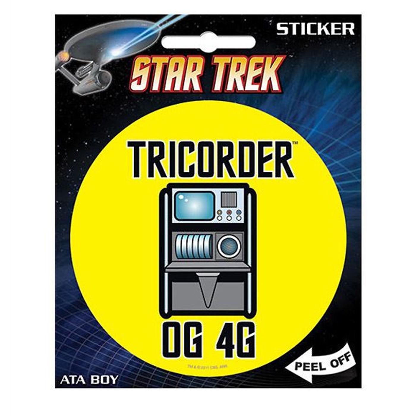 Star Trek Tricorder Sticker