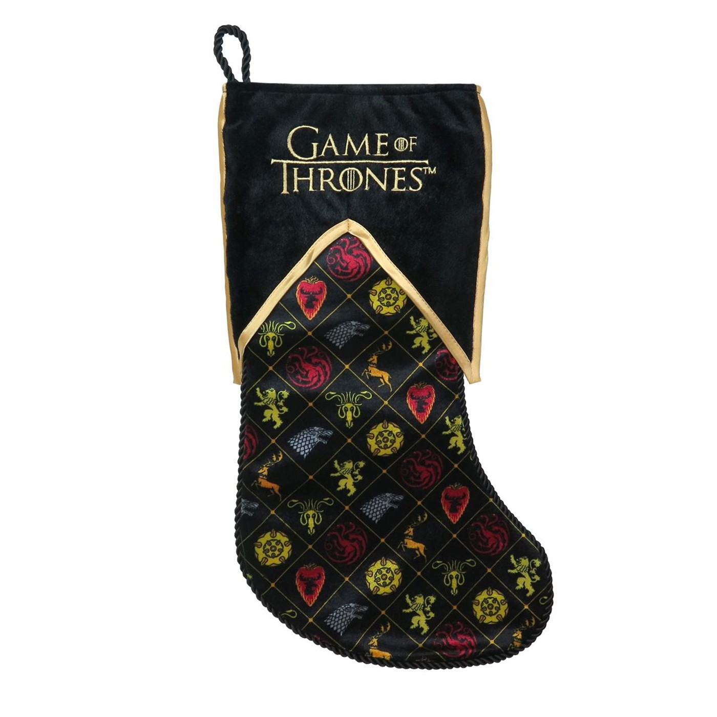 Game of Thrones House Symbols Christmas Stocking