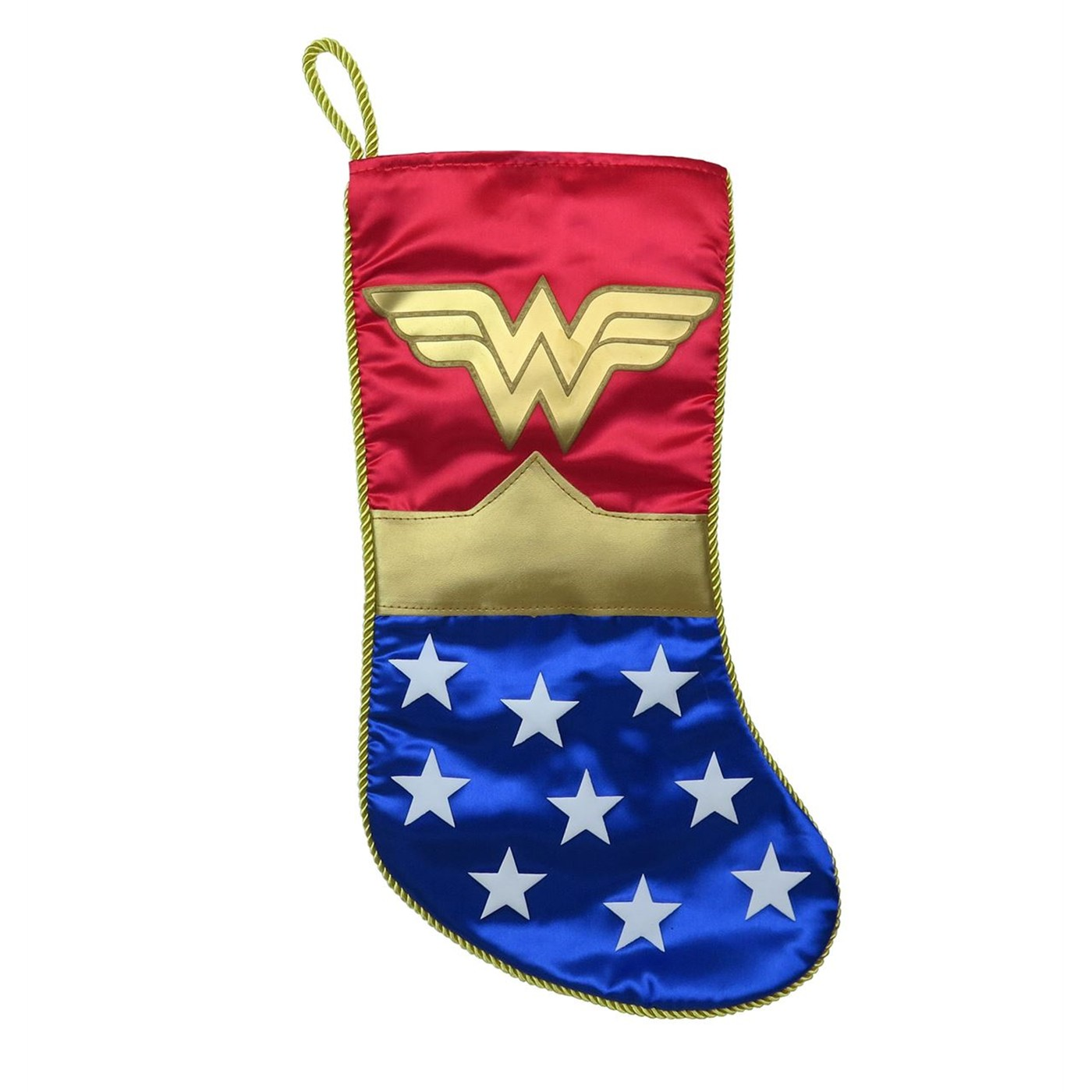 Wonder Woman Symbol Christmas Stocking