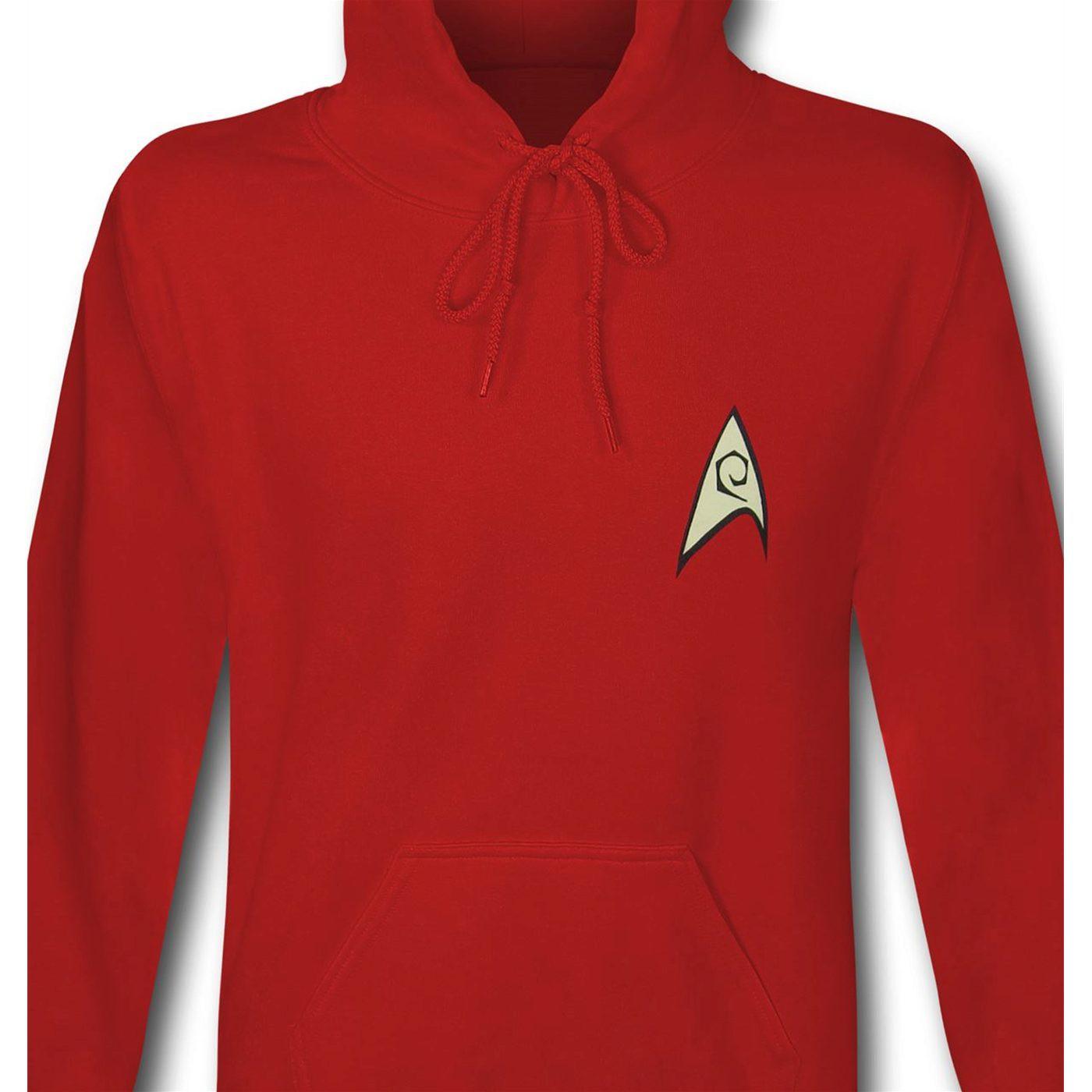 Star Trek Engineer/Security Men's Hoodie
