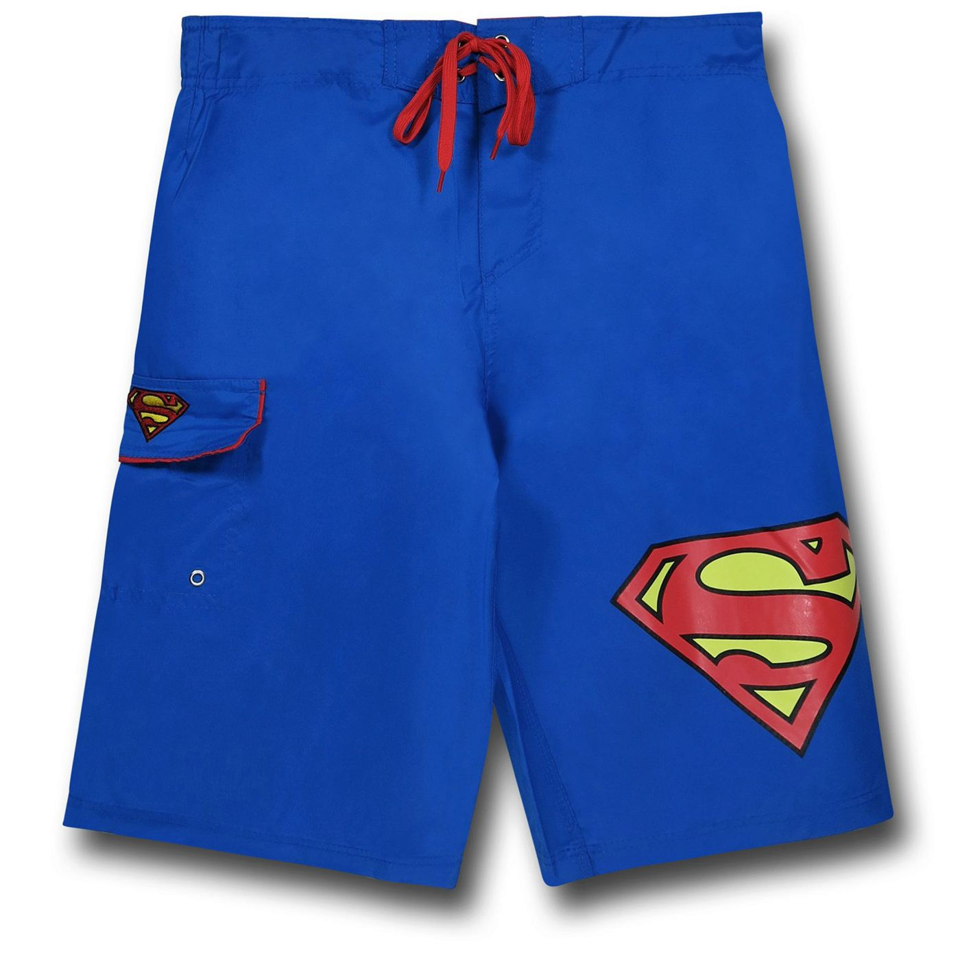 Superman Symbol Royal Blue Board Shorts