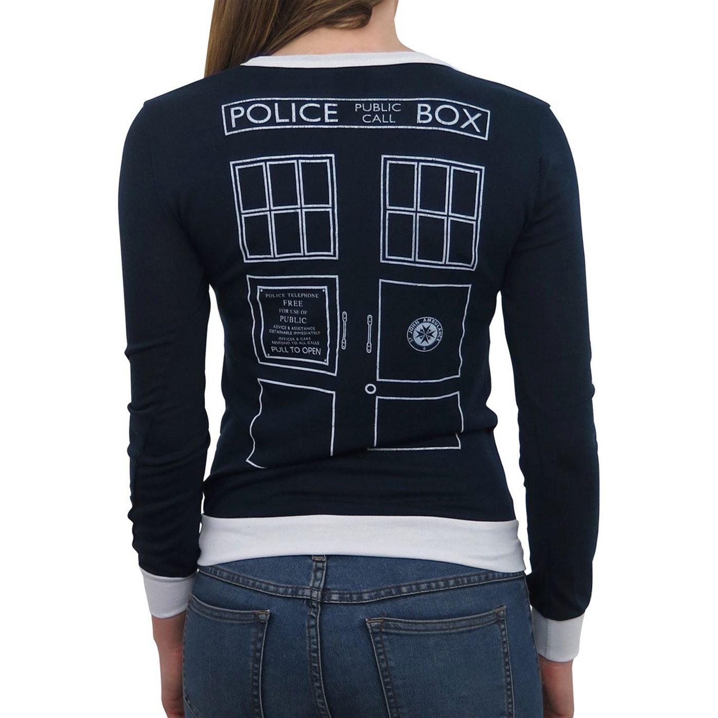 Doctor Who Women's Tardis Cardigan