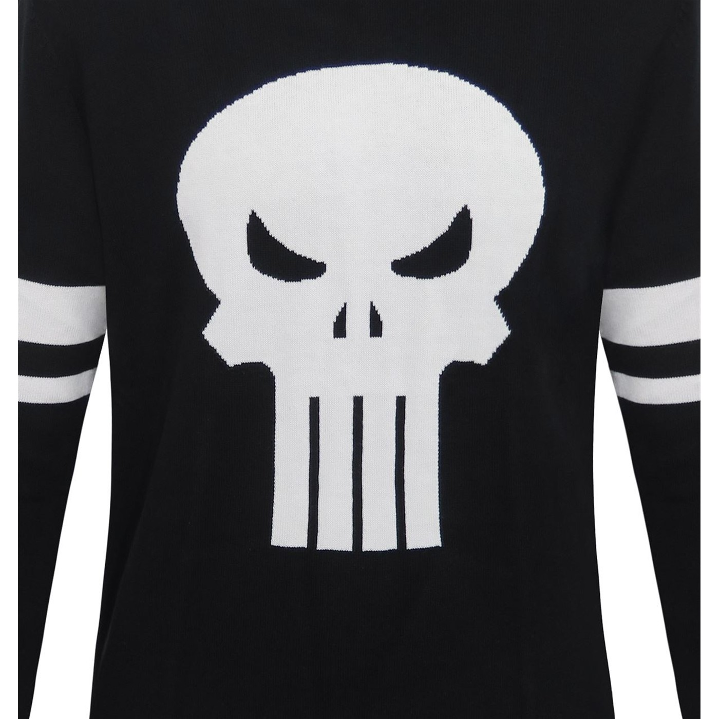 Punisher Symbol Jacquard Men's Sweater