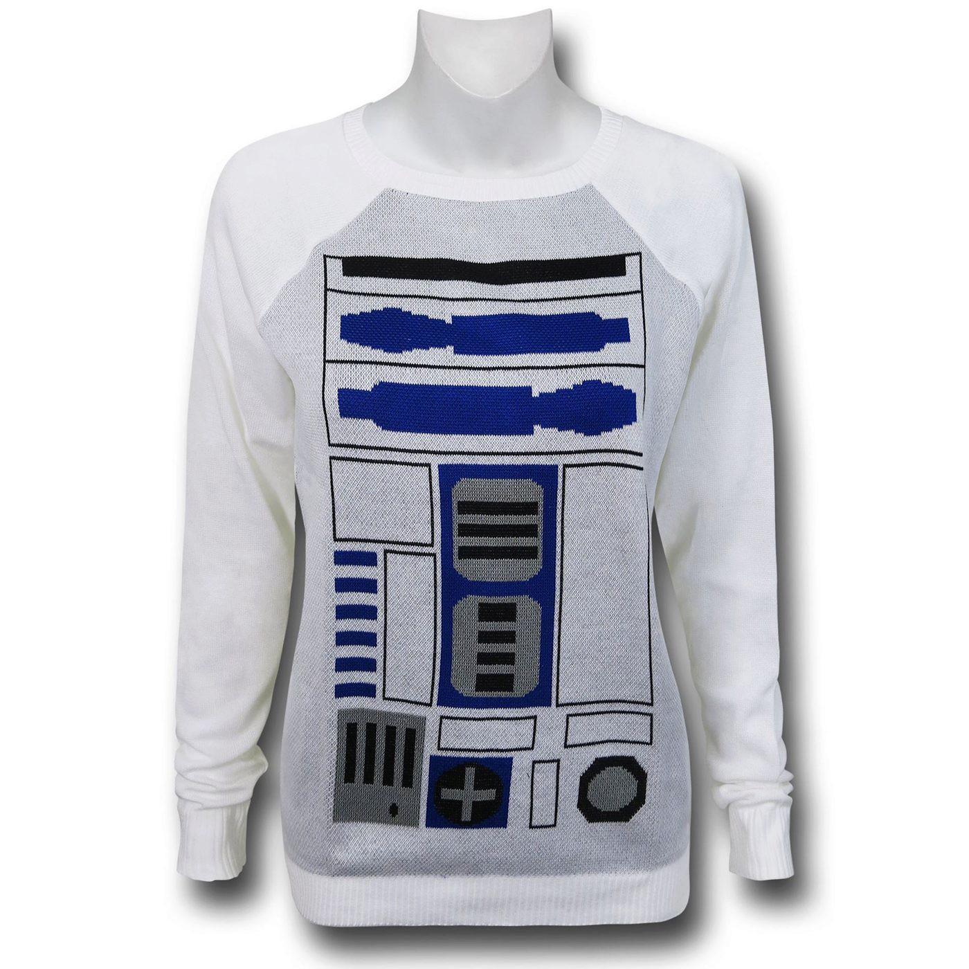 Star Wars R2D2 Women's Costume Sweater