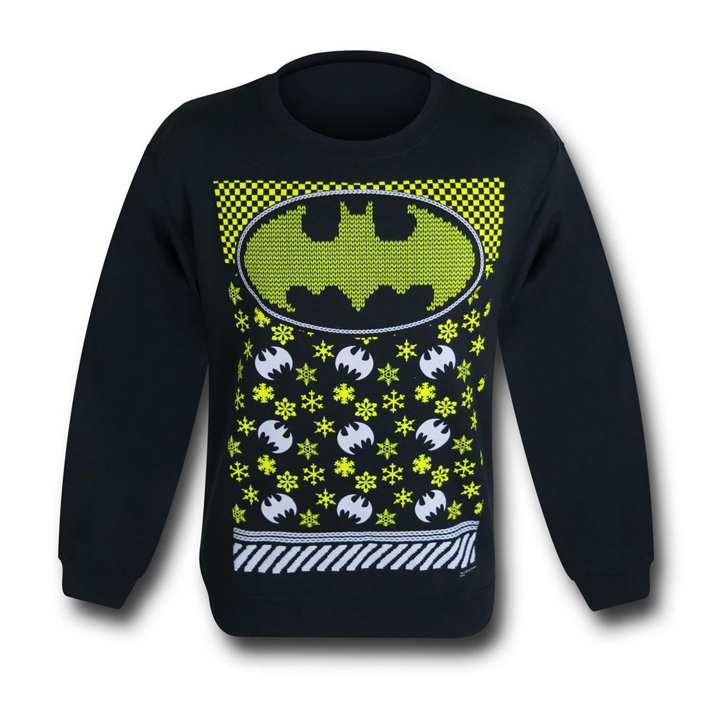Batman Ugly Sweater Sweatshirt
