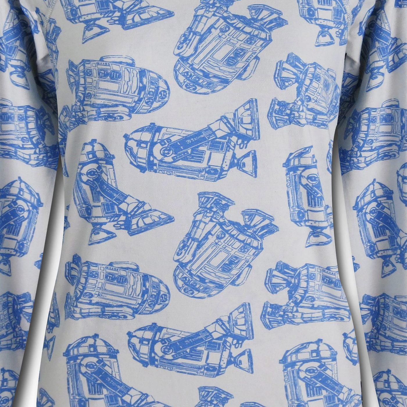 Star Wars R2D2 Reversible Women's Sweater