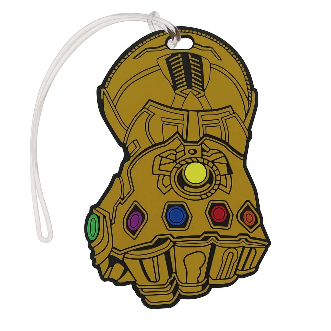 Infinity War Thanos Infinity Gauntlet Luggage Tag