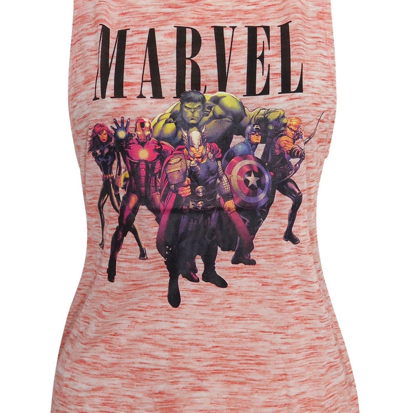 Marvel Avengers Space Dye Women's Tank Top