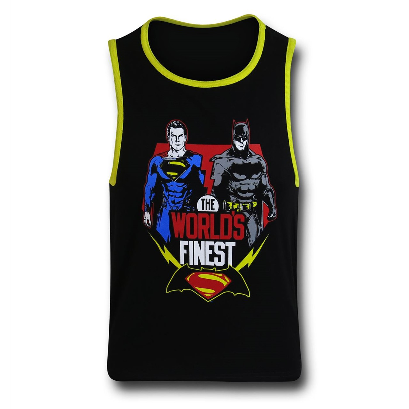 Batman Vs Superman World's Finest Kids Tank Top